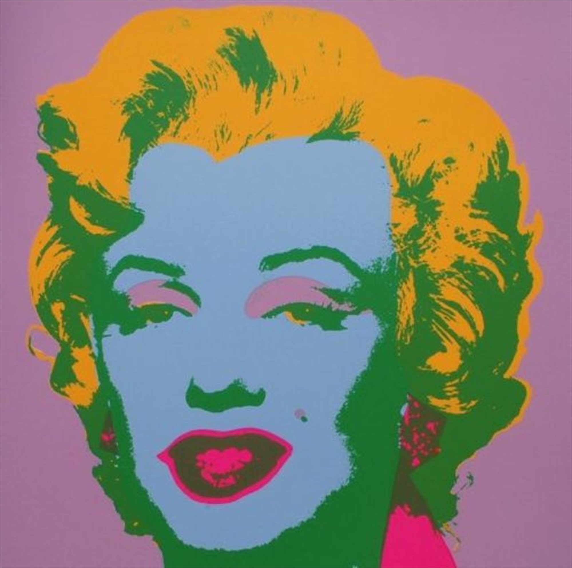 Marilyn 28 From the Sunday B. Morning Edition by Andy Warhol