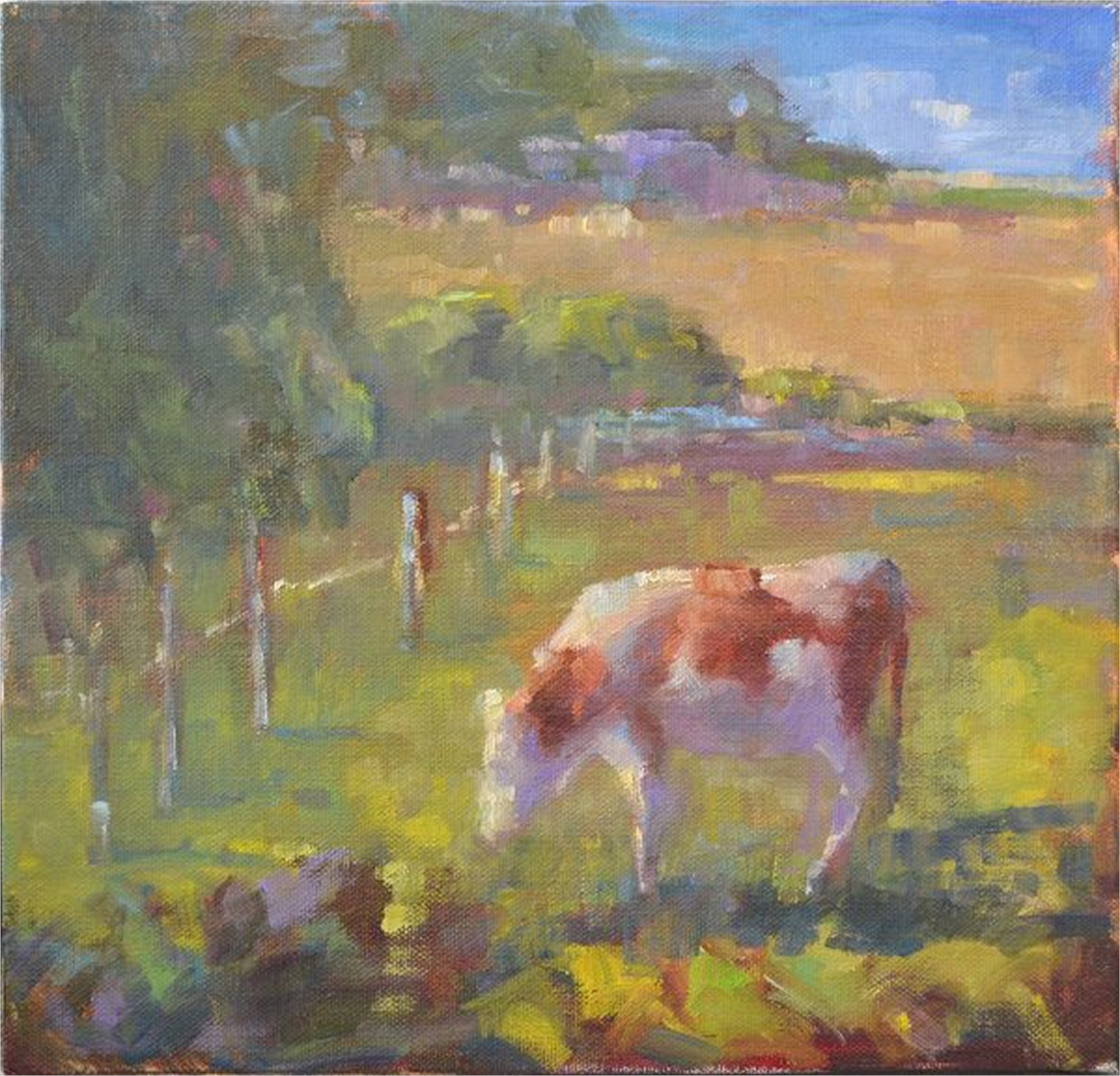 Grazing in the Sunlight by Karen Hewitt Hagan