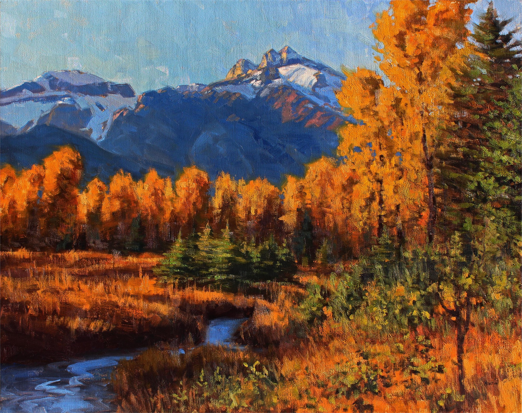 September Gold by Wes Newton