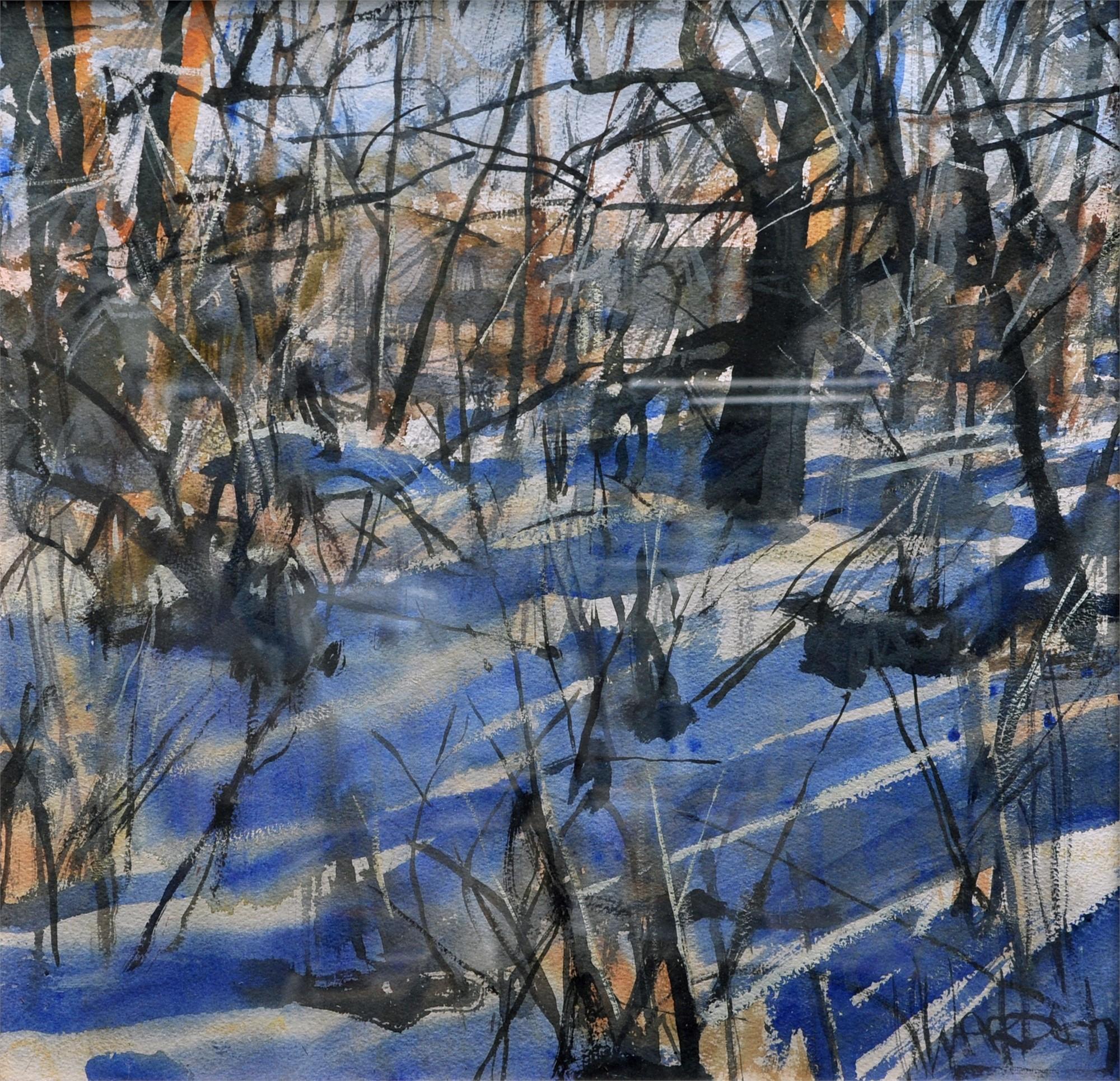 Blue Shadows by Kevin Weckbach