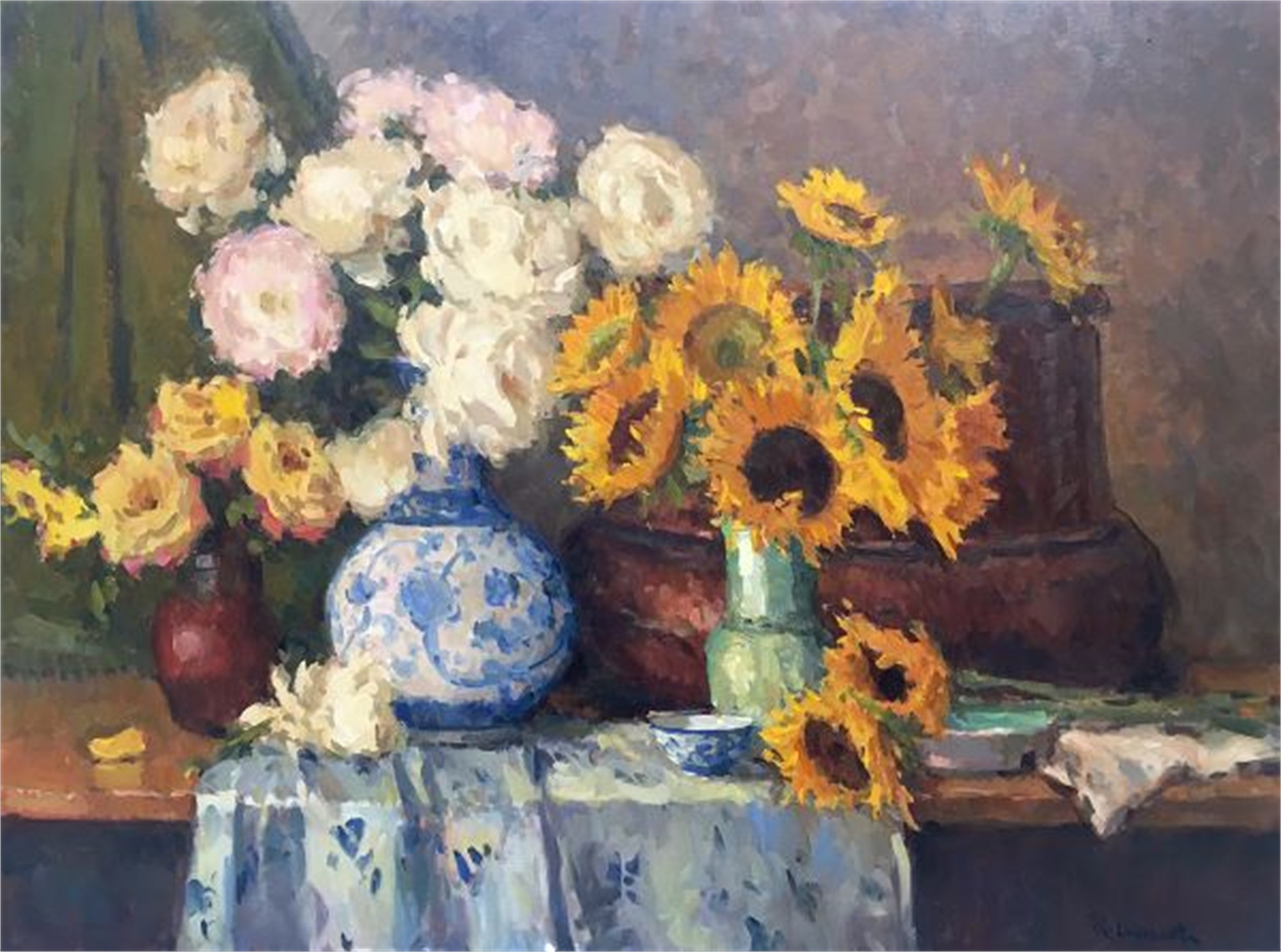 Summer Blossoms by Richard Oversmith