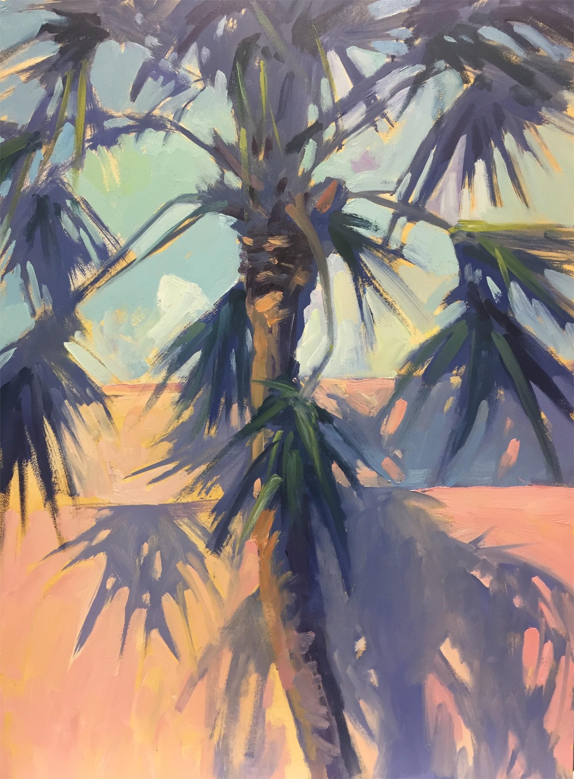 Lone Palm by Linda Richichi