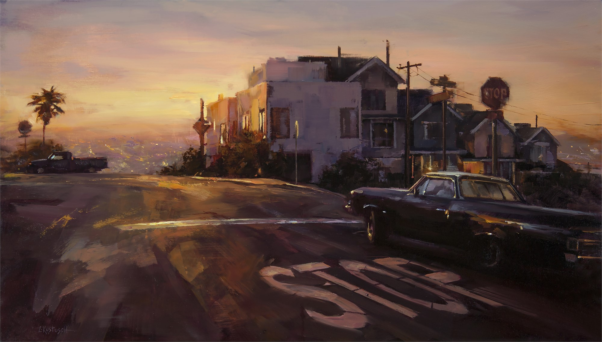 Morning in Dolores Heights by Lindsey Kustusch
