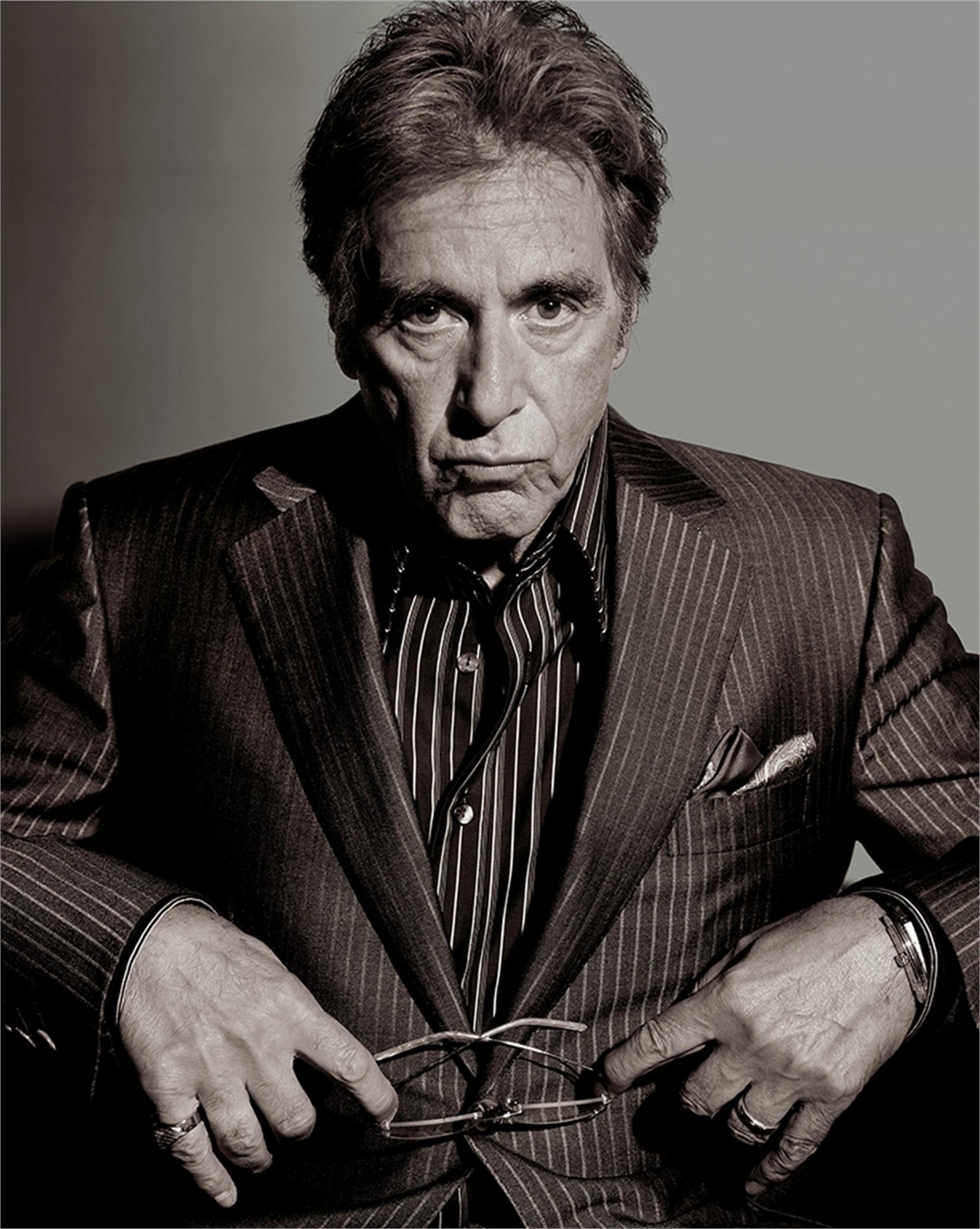 06059 Al Pacino BW by Timothy White