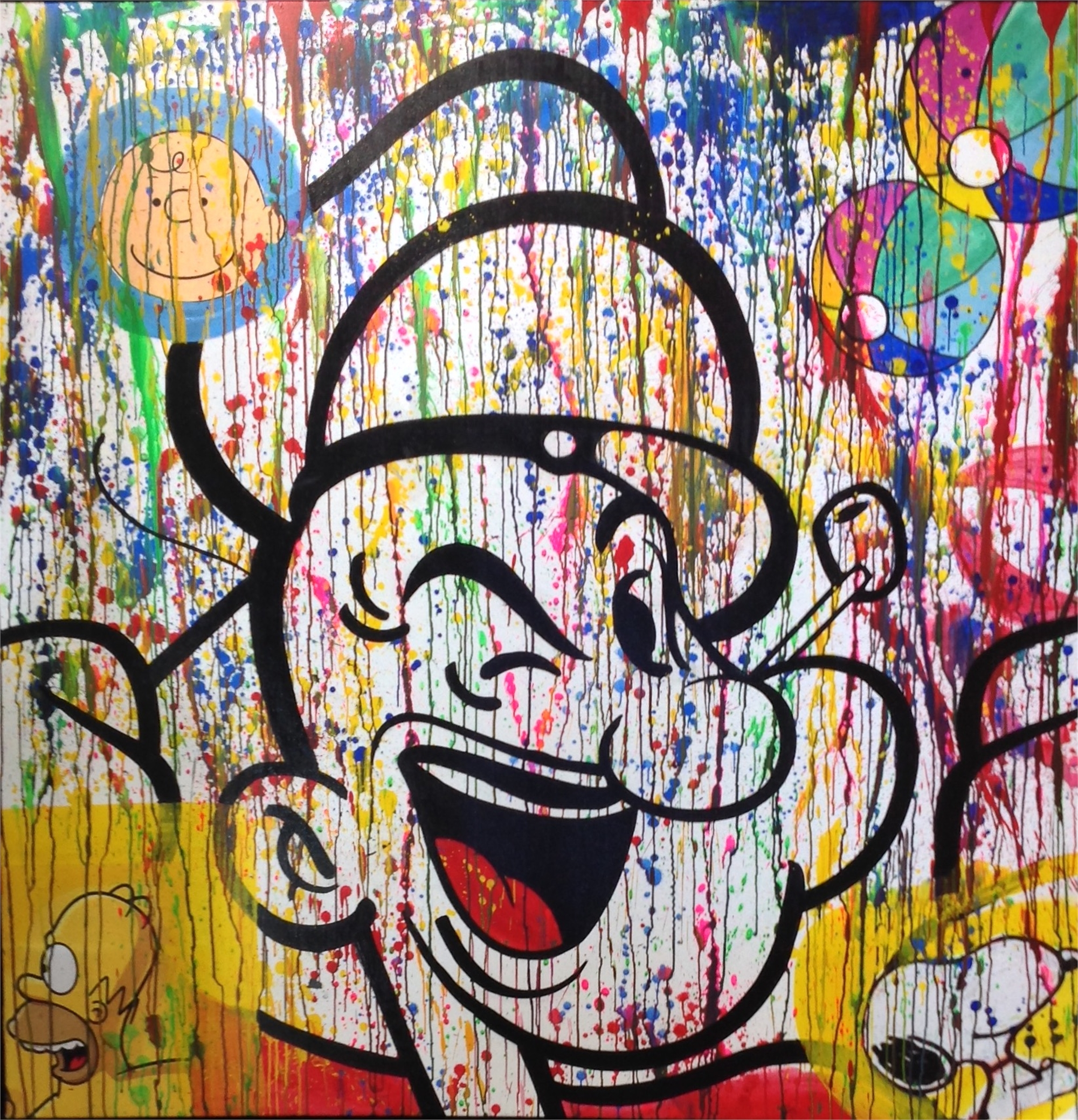 """""""Popeye, Peanuts and Gang"""" by Buma Project"""