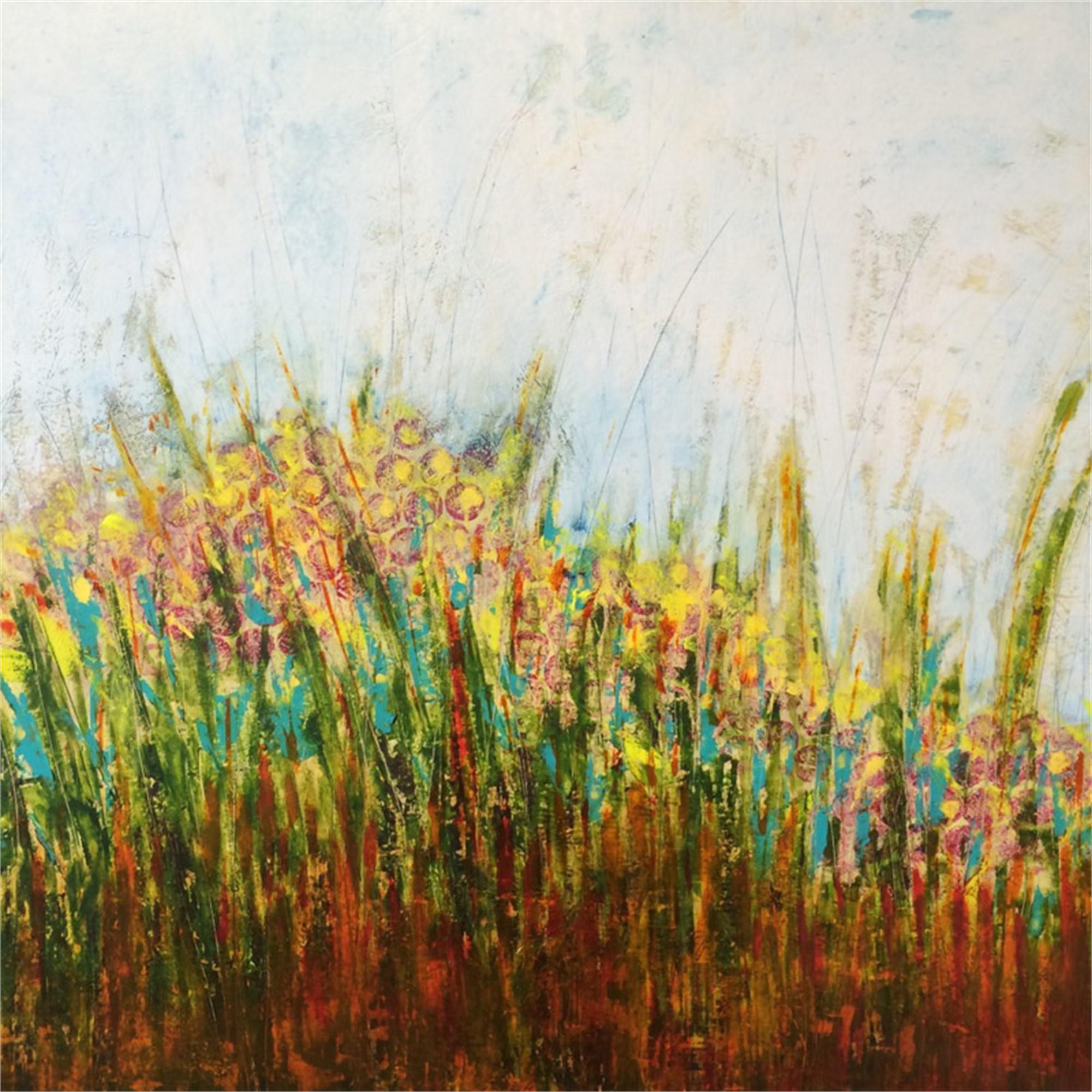 Prairie Blooms by Lori Elliott-Bartle