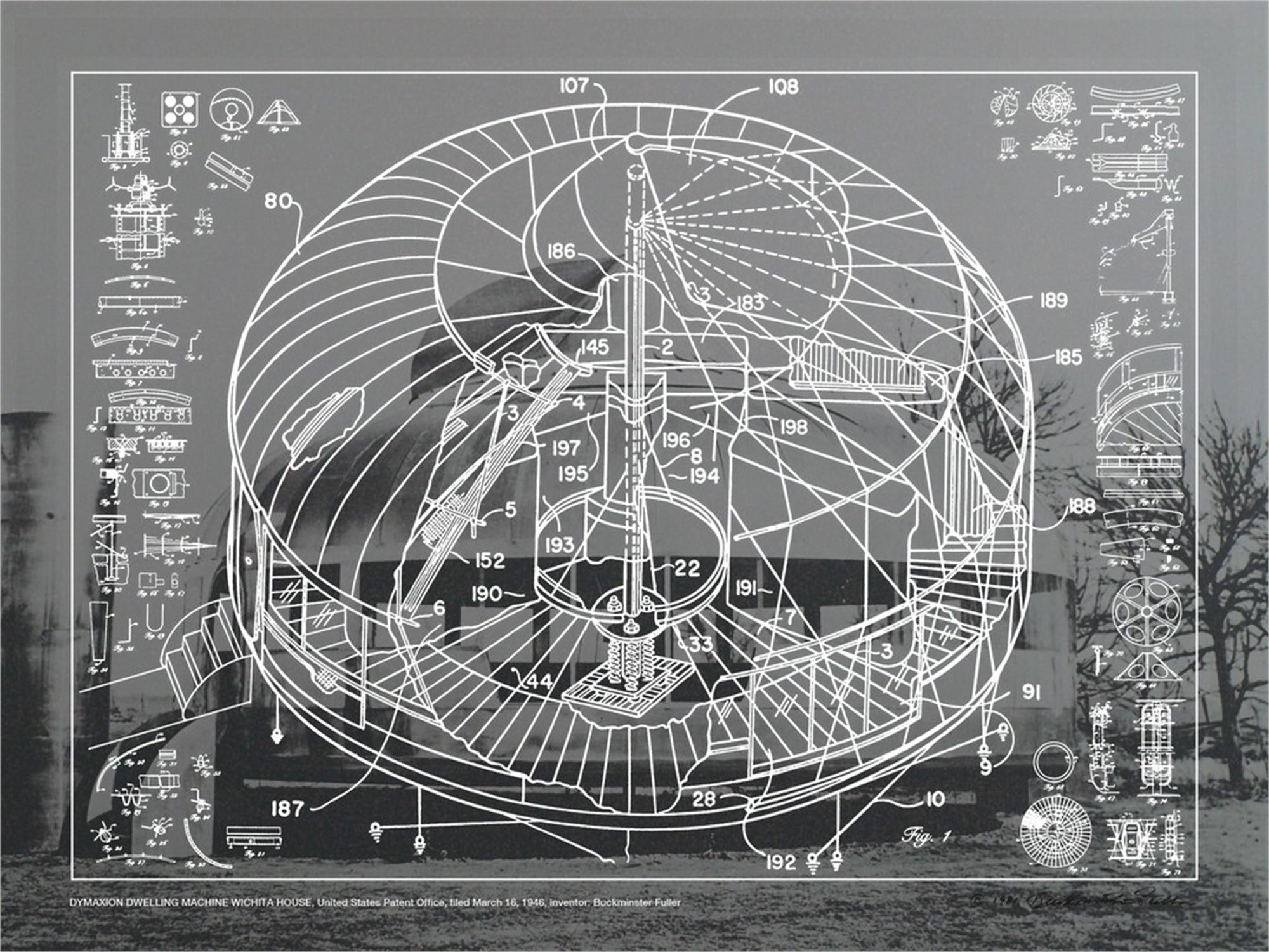 Dymaxion Dwelling Machine-Wichita House by Buckminster Fuller