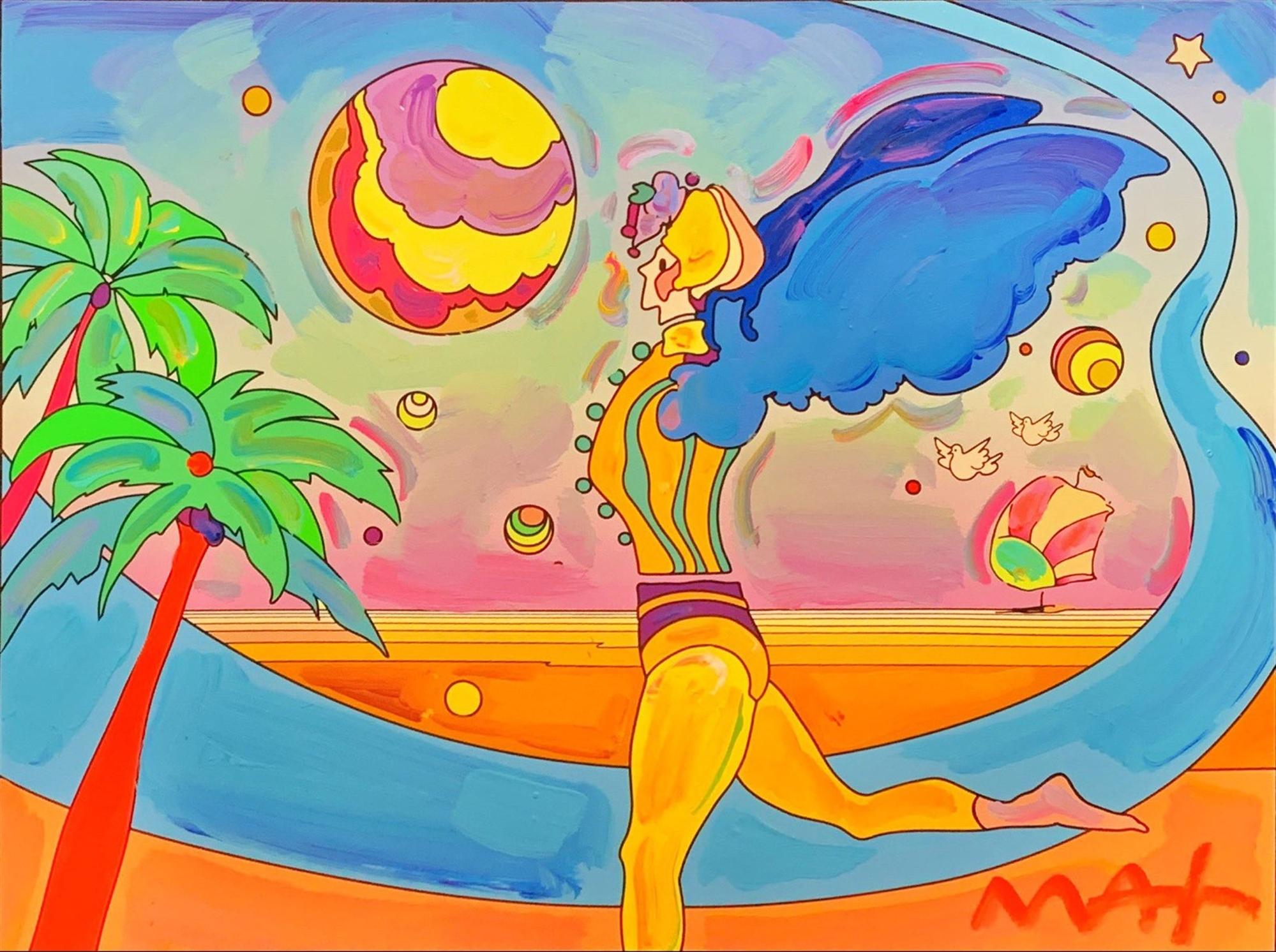 Cosmic Series: Planetarian Traveler by Peter Max