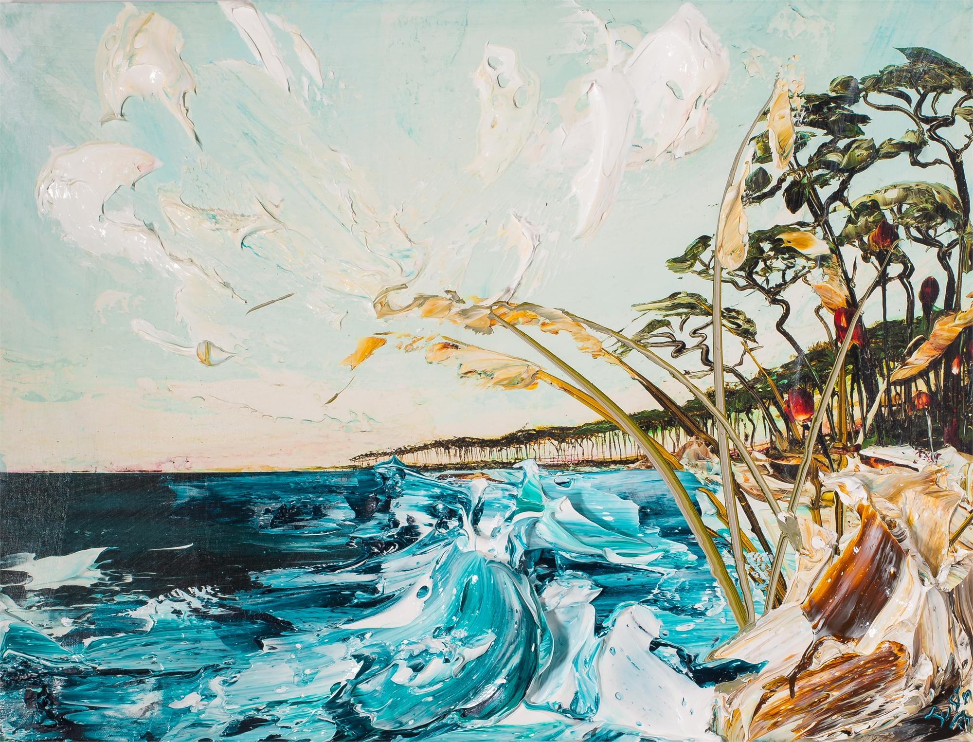 SEASCAPE HPAE 11/50 by Justin Gaffrey
