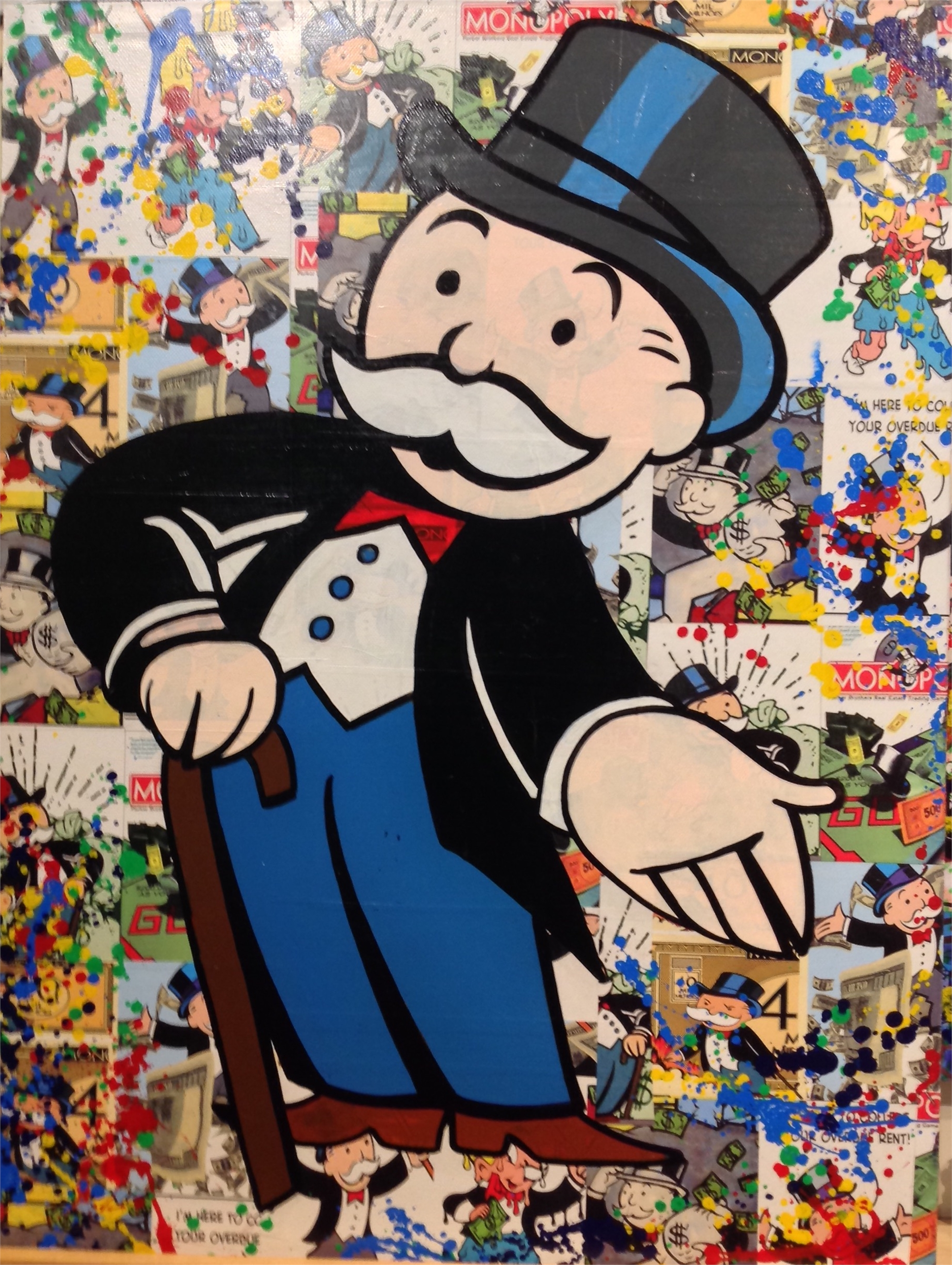 """Monopoly Man "" by Buma Project"