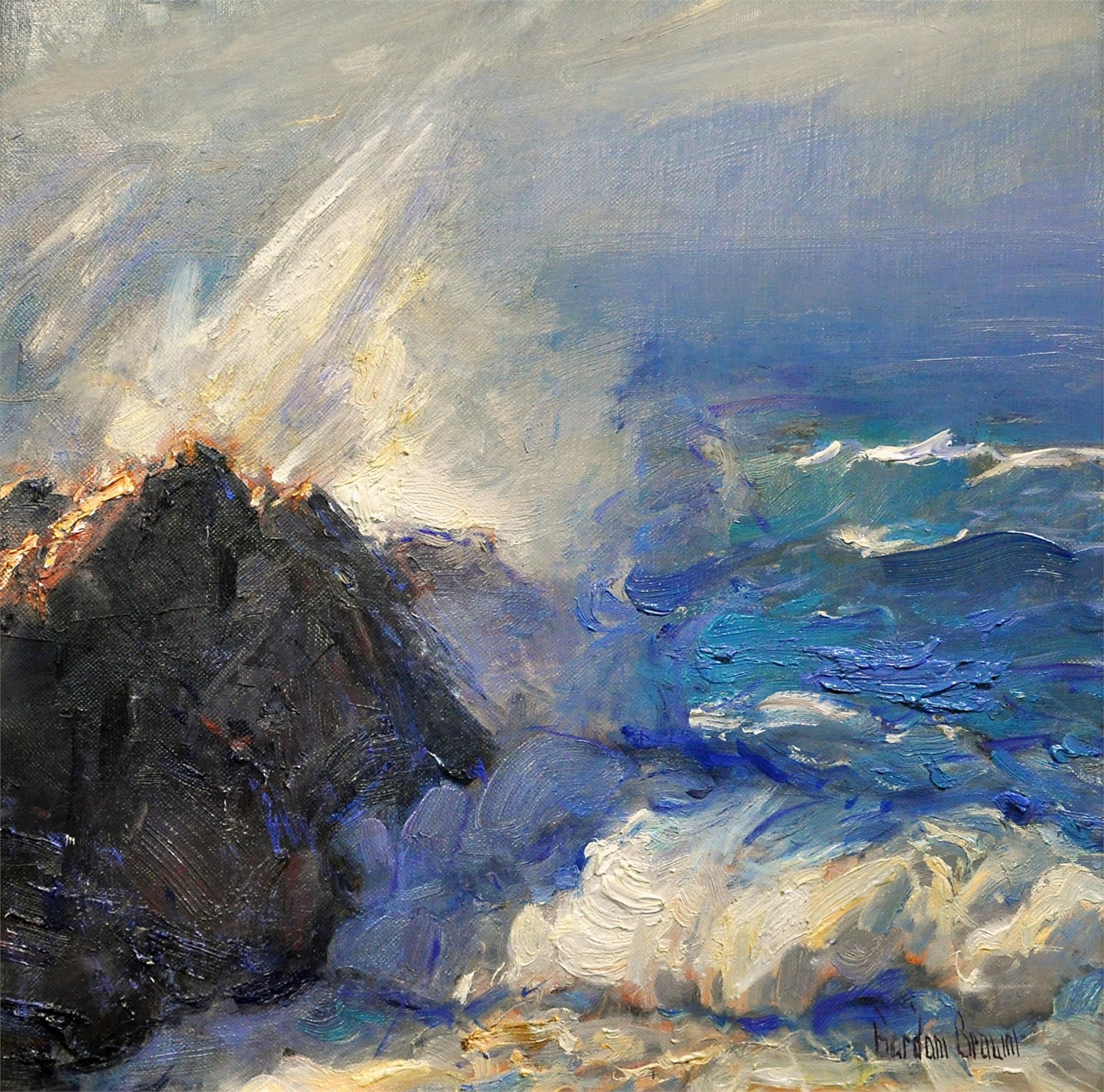 Crashing Waves by Gordon Brown