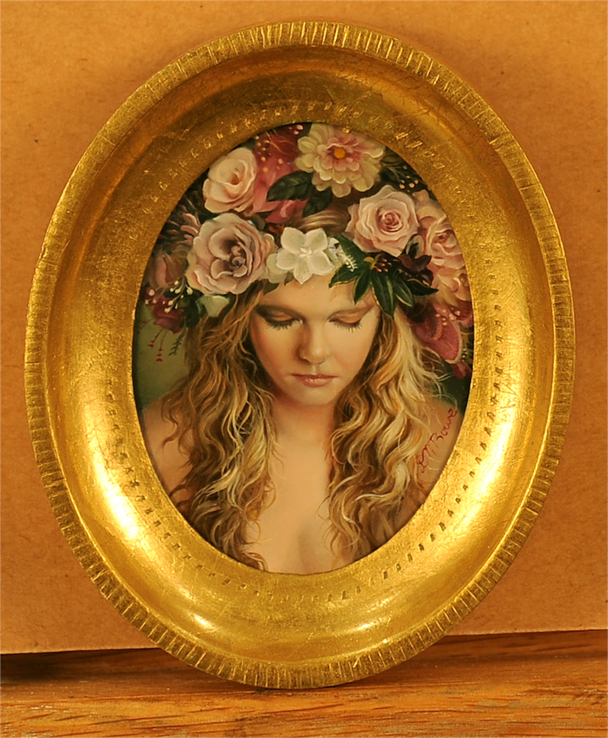 Flower Girl by David Michael Bowers