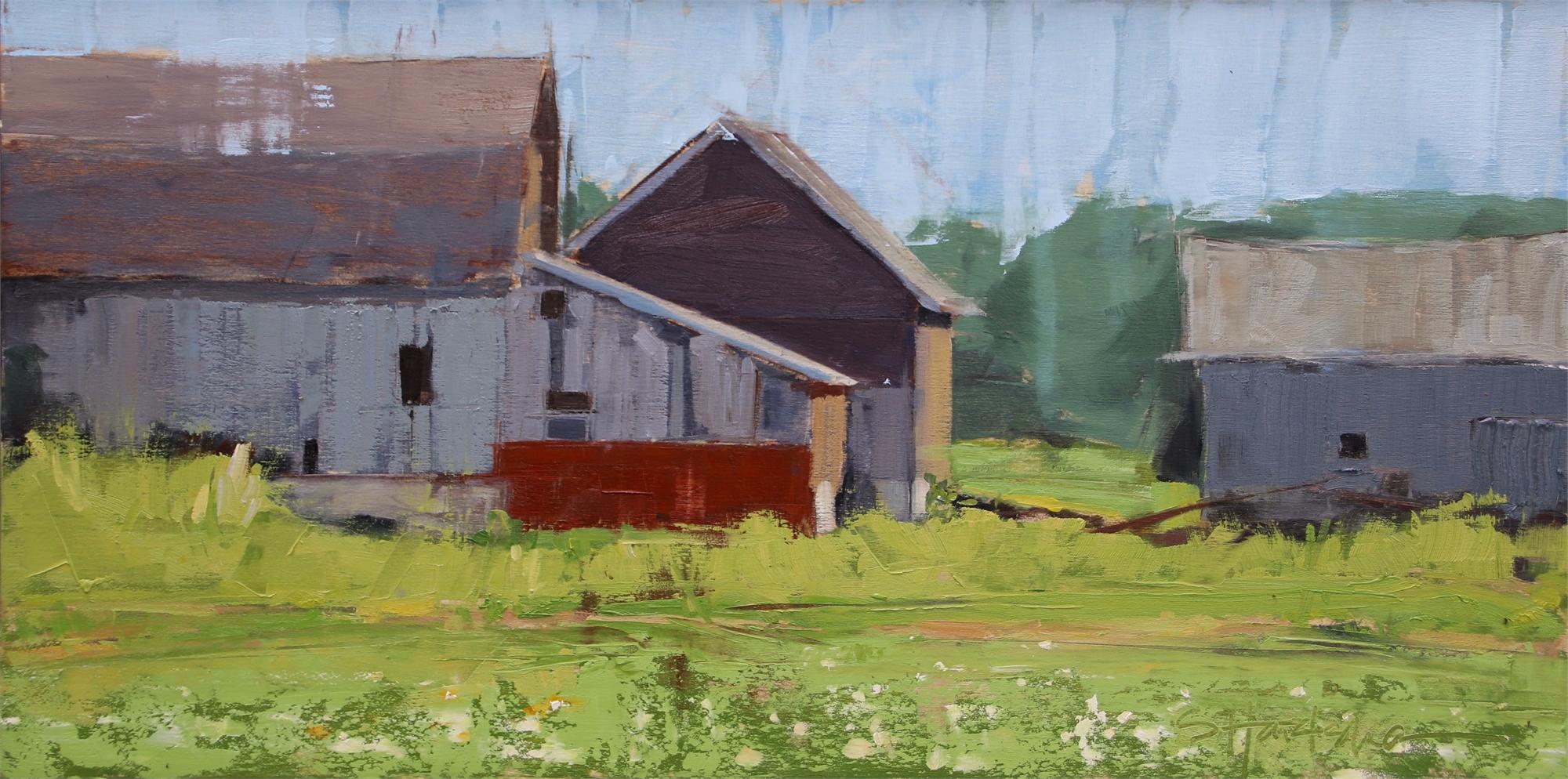 Barn Sides by Stephanie Hartshorn