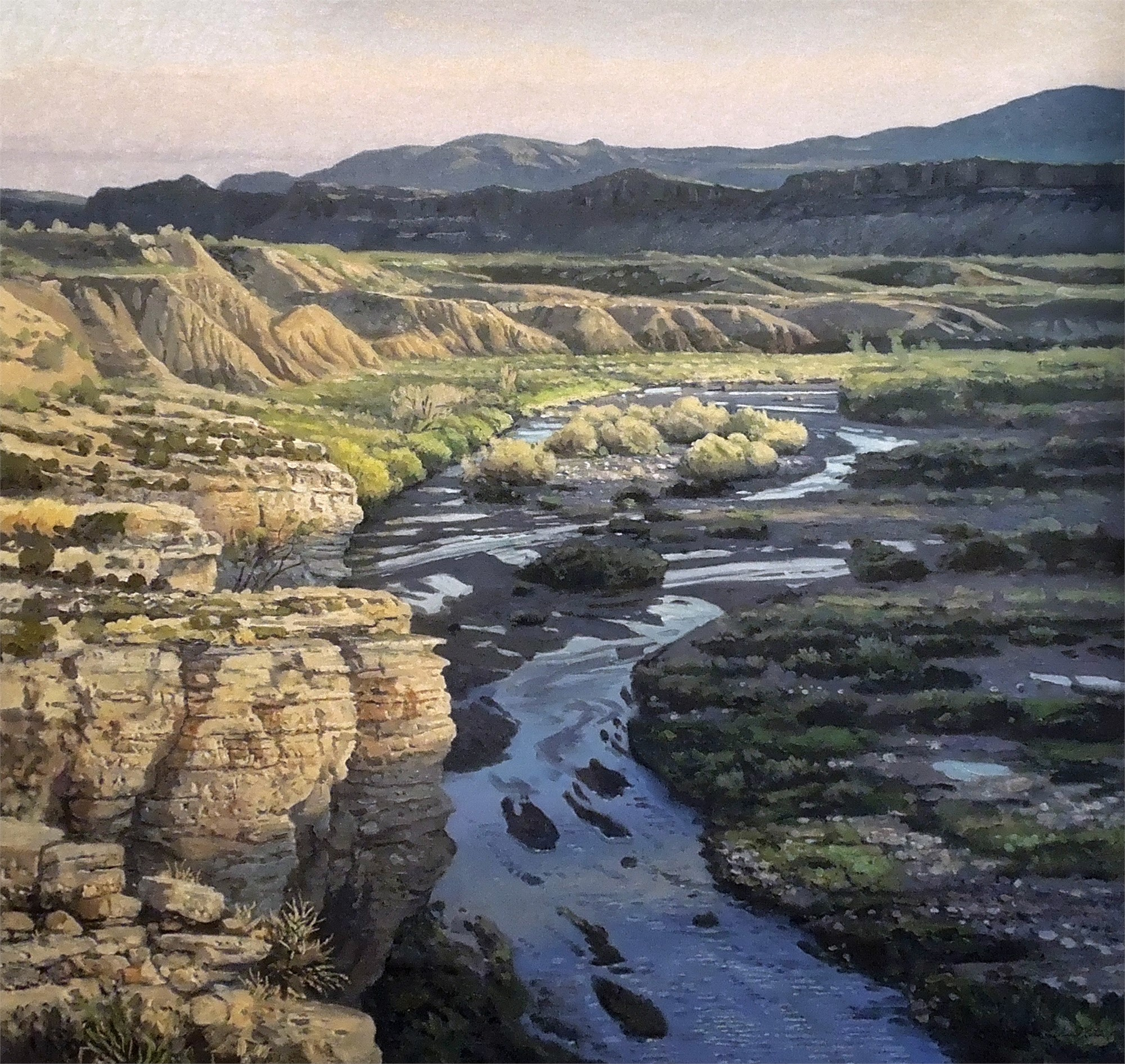 Fresno Creek, Big Bend State Ranch Park by David Caton
