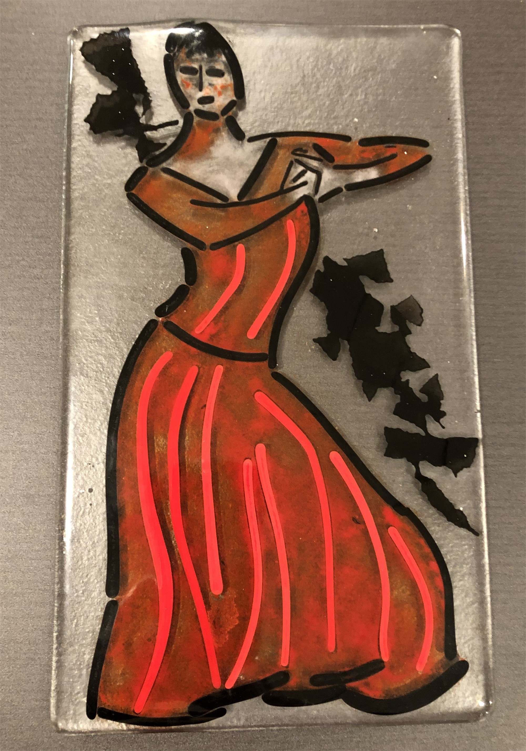 Spanish Dancer by Mary Volm (Carlton, OR)