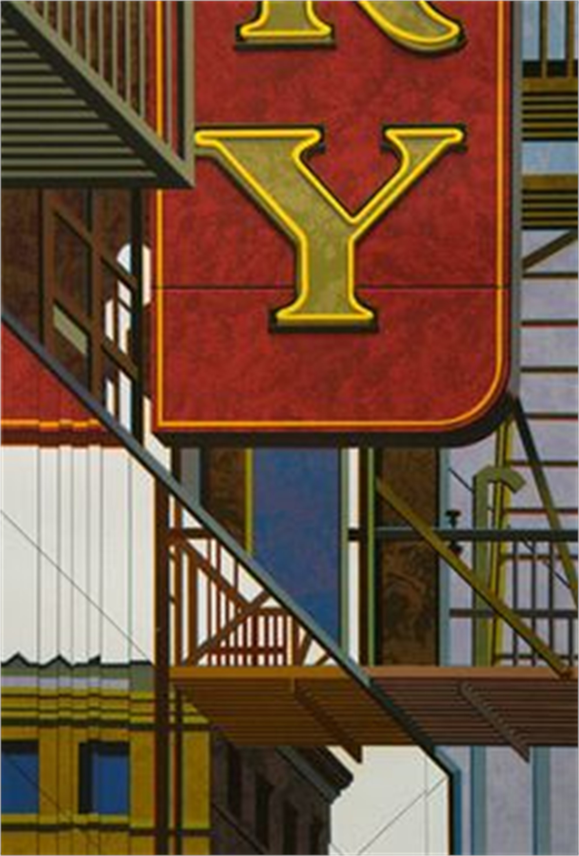 An American Alphabet: Y by Robert Cottingham