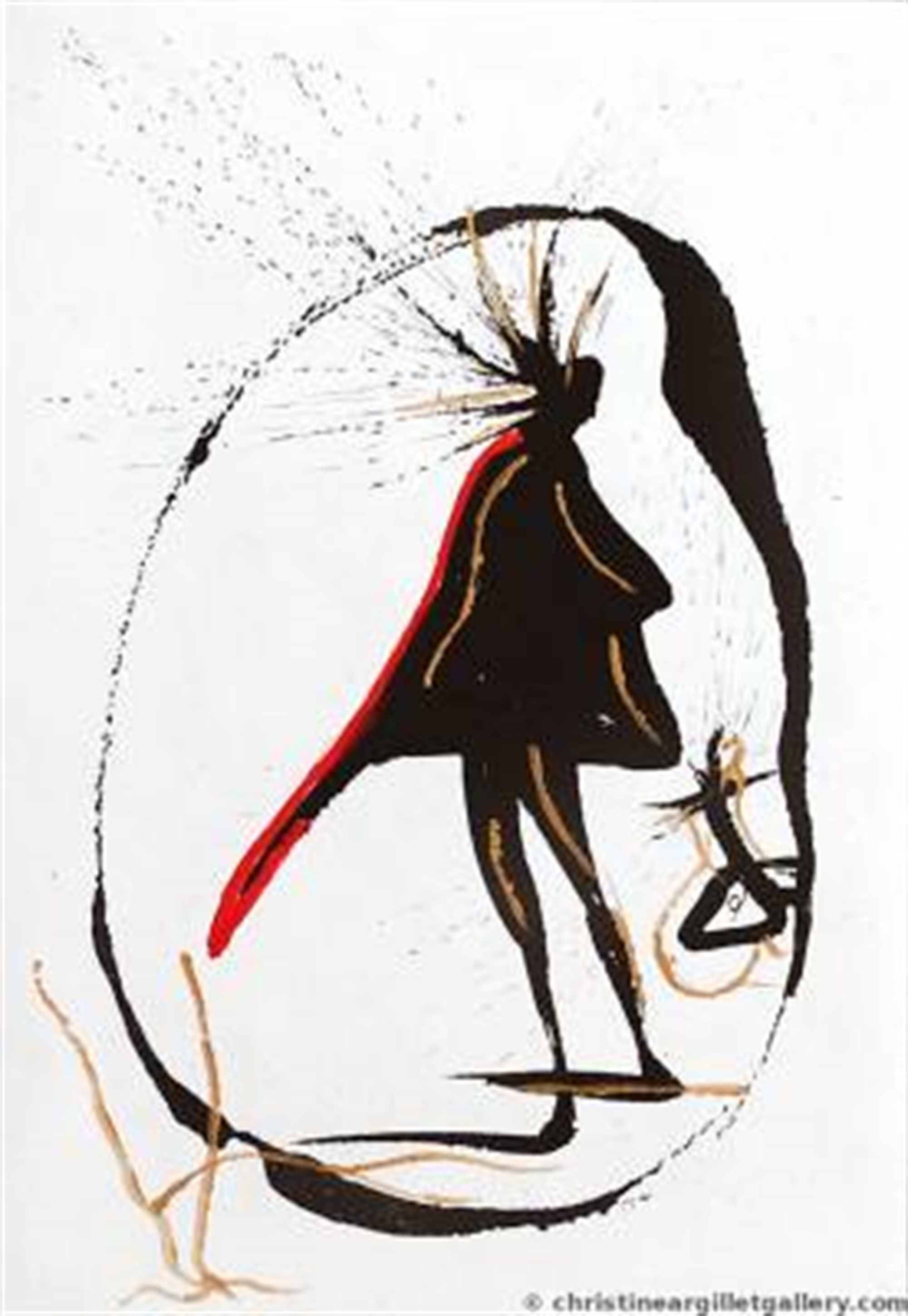 "Vignettes of Faust ""Magic Circle"" by Salvador Dali"