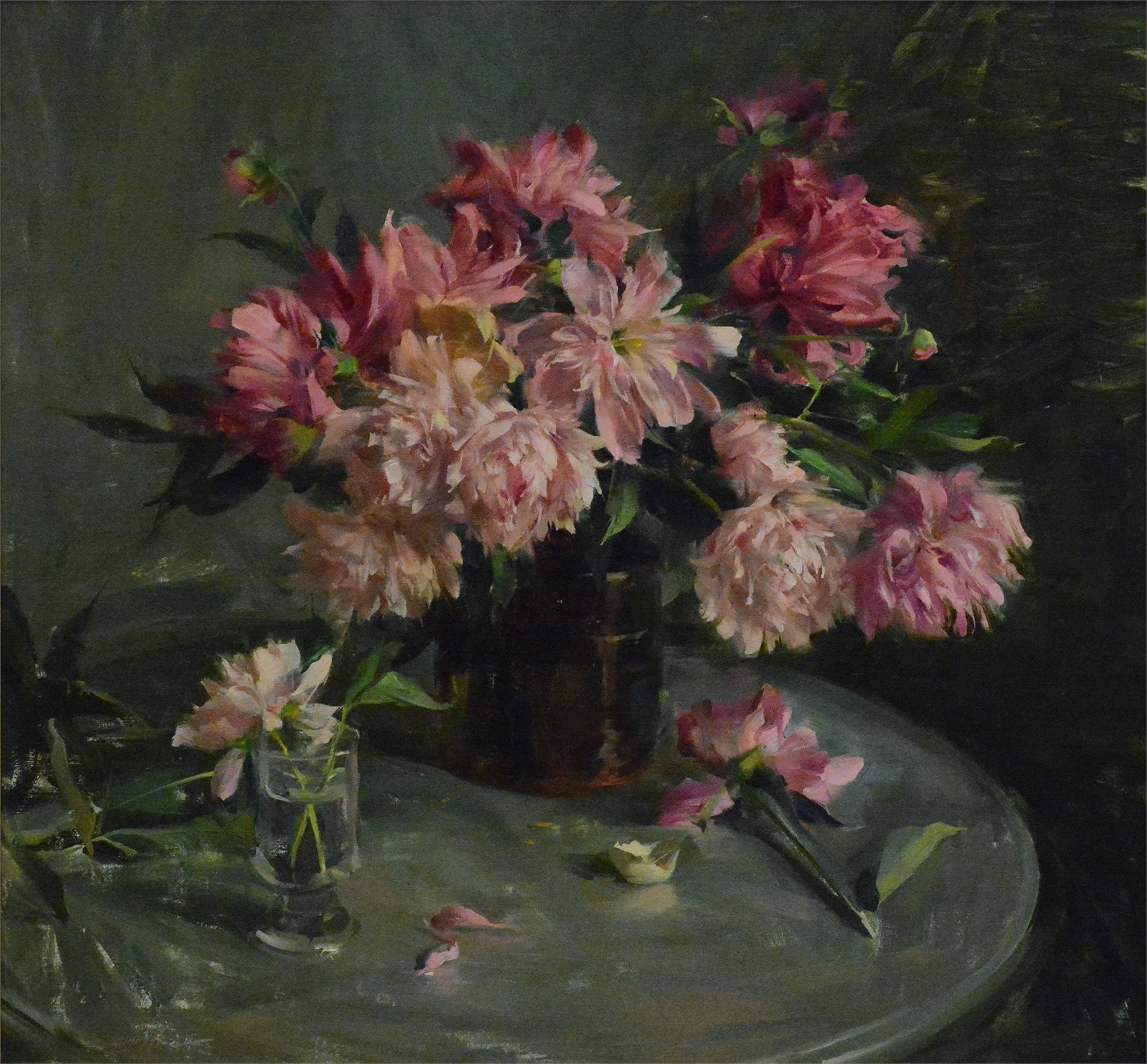 Peonies by Quang Ho