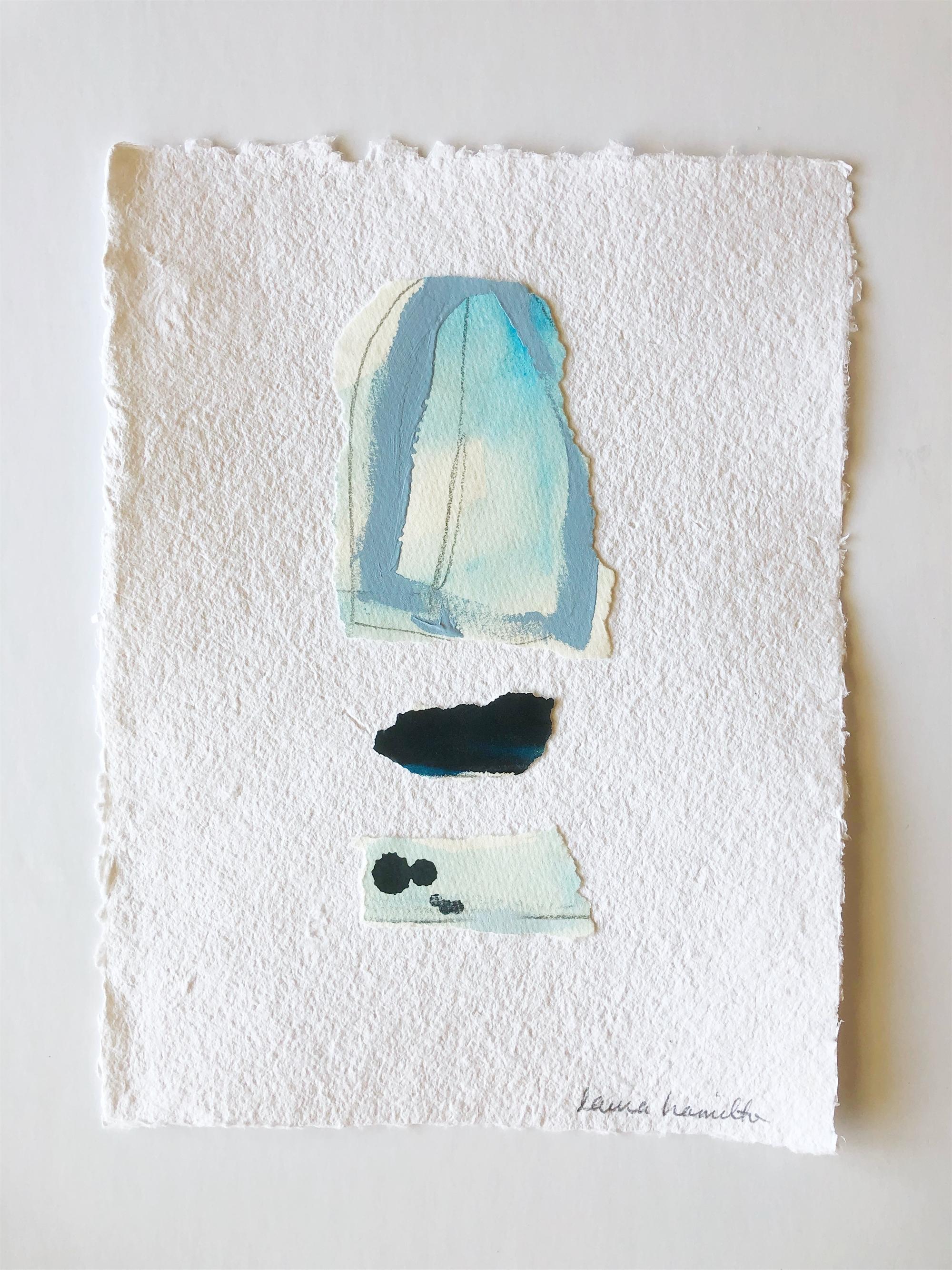 Blue Study I by Laura Hamilton