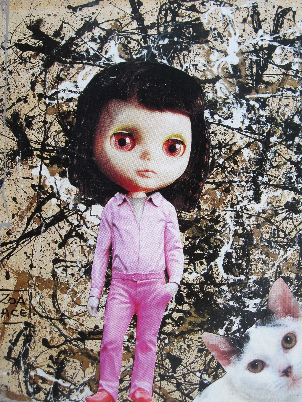 Pretty in Pink Blythe by Zoa Ace