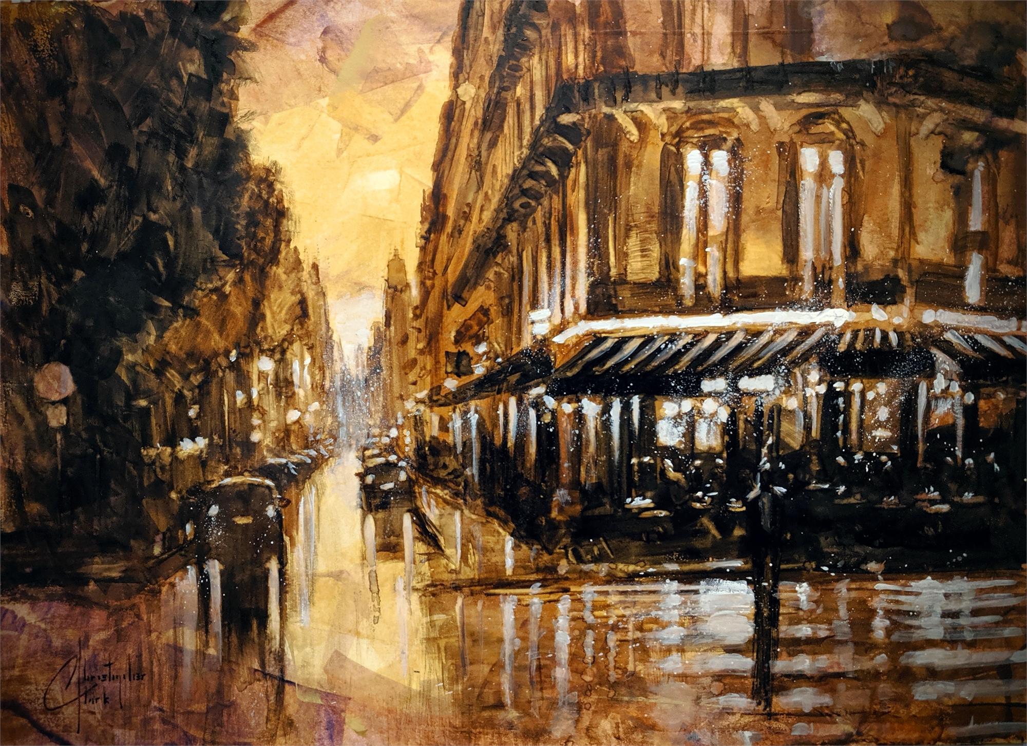 Sepia Tone, Paris III by Christopher Clark