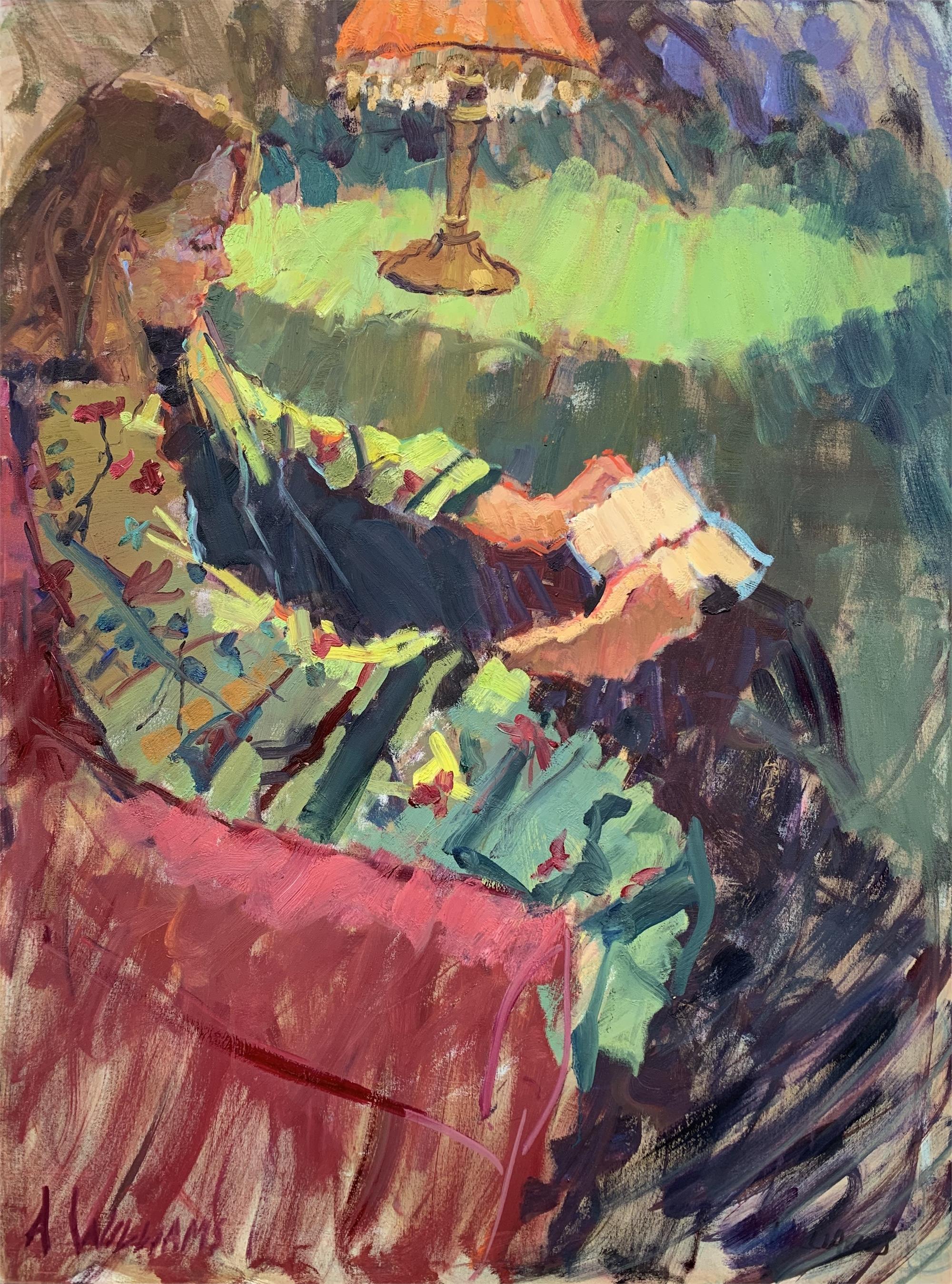 Girl in Kimono by Alice Williams