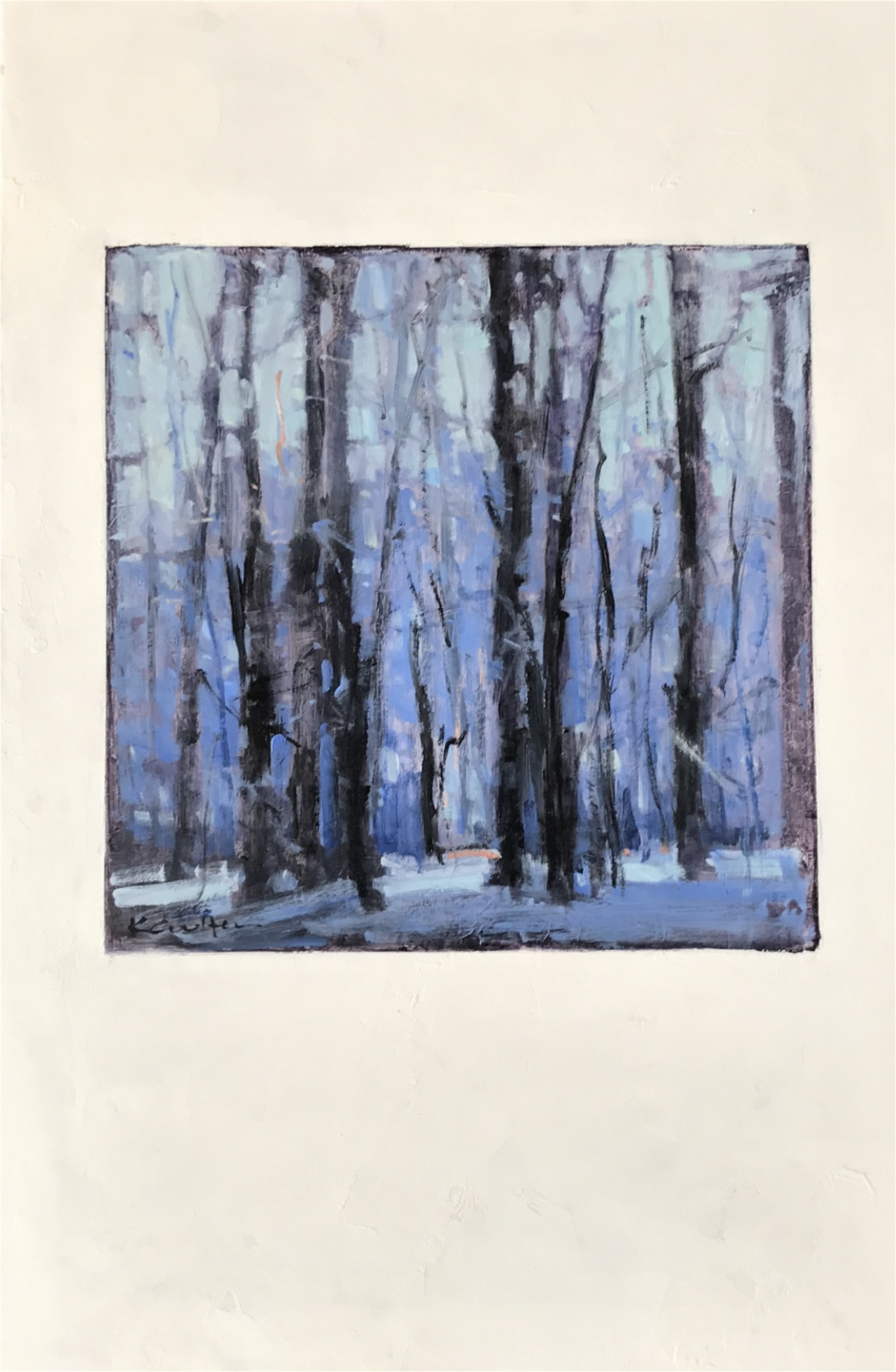 Winter Highlights I, 2017 by Kim Coulter