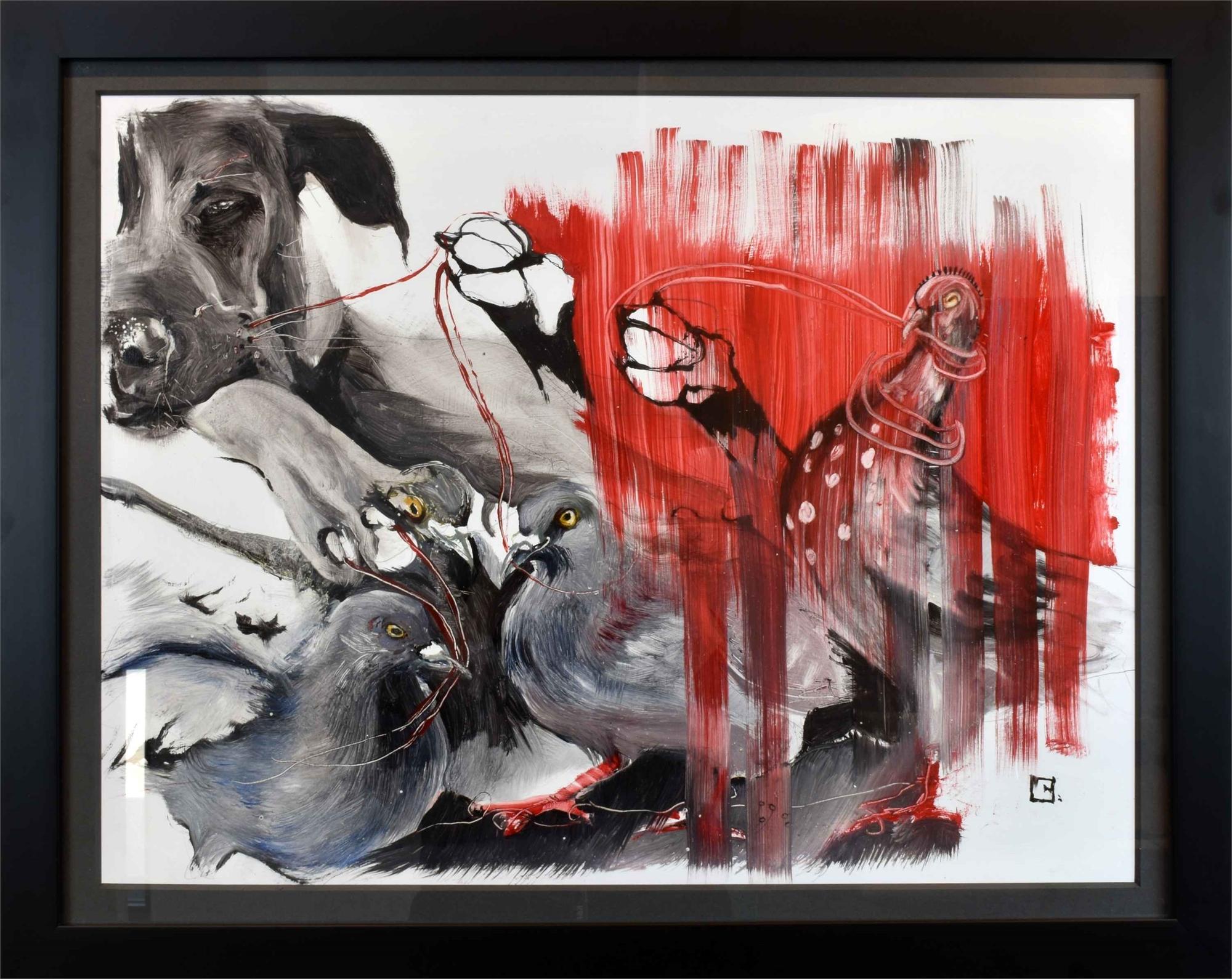 DOG I PULL by Olga Gál