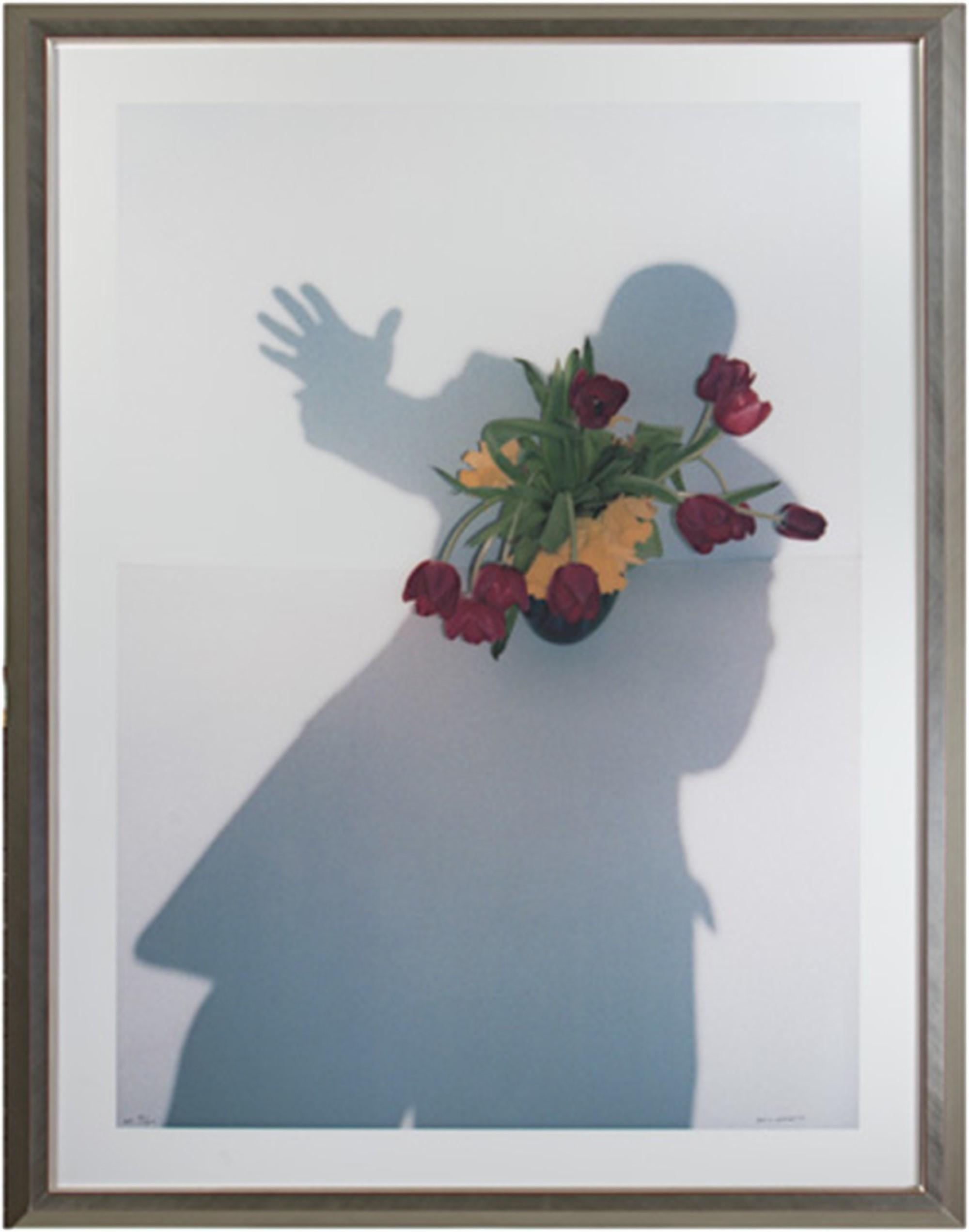 Self Portrait Shadow Series: Take My Hand, I'm a Stranger in Paradise by David Barnett