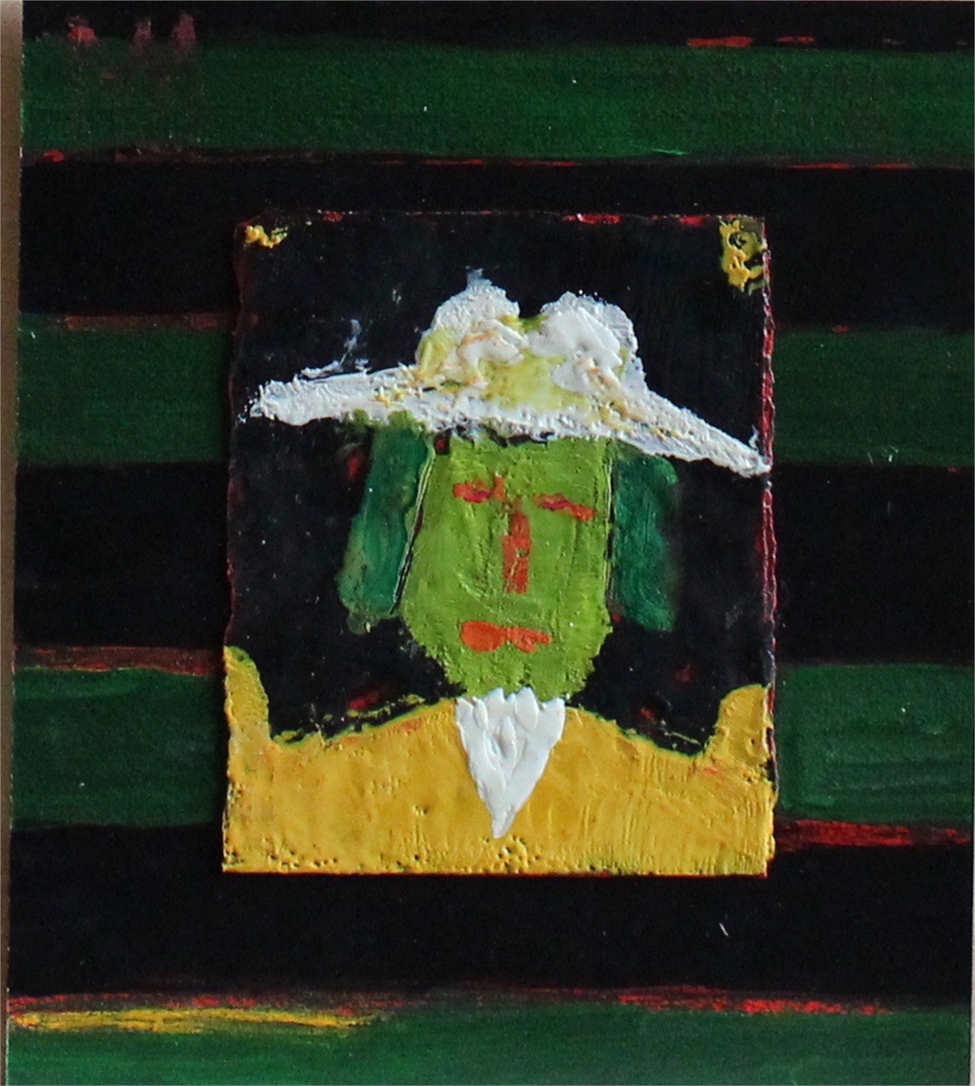 Man in Panama Hat by Michael Snodgrass