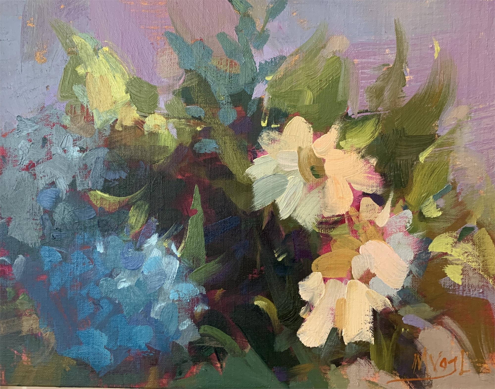 Petals of Blue by Marissa Vogl