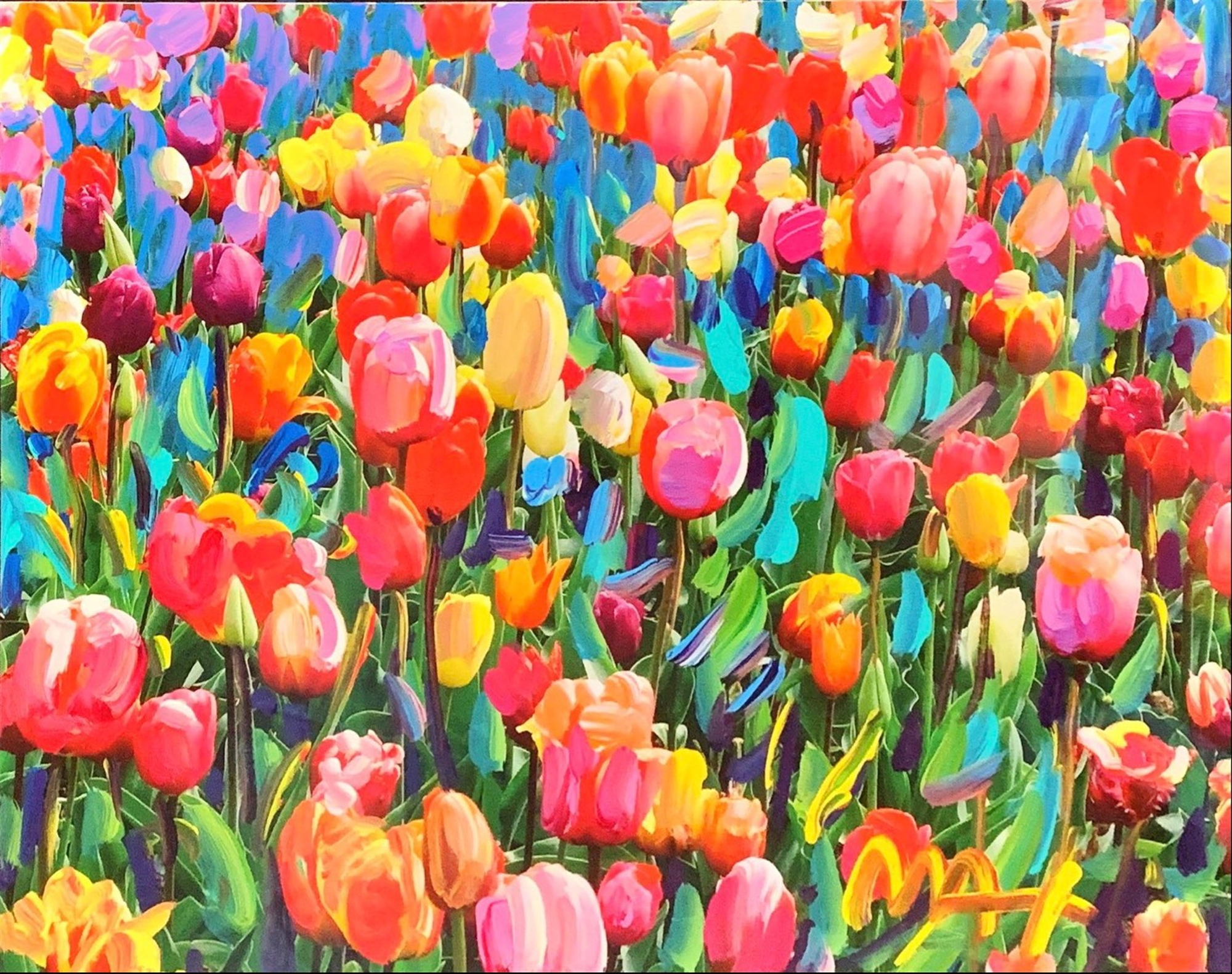 Tulips by Peter Max