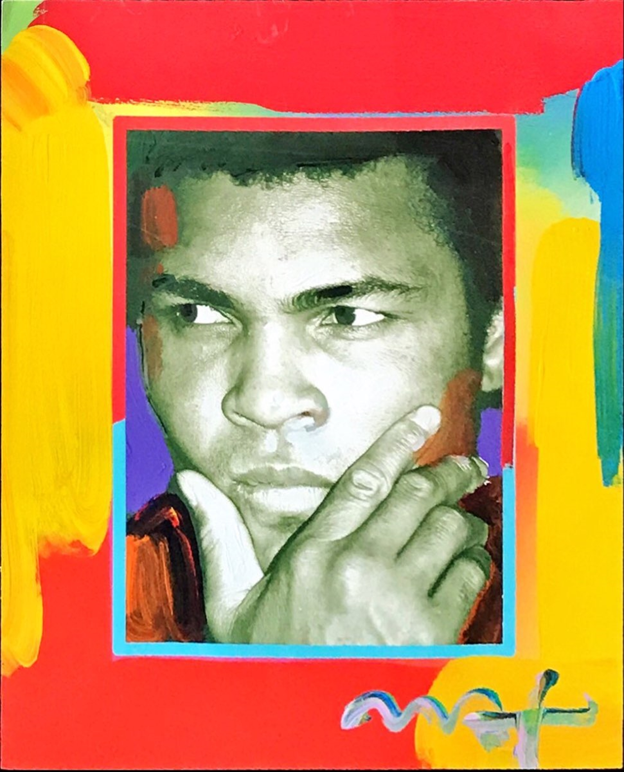 Muhammad Ali by Peter Max