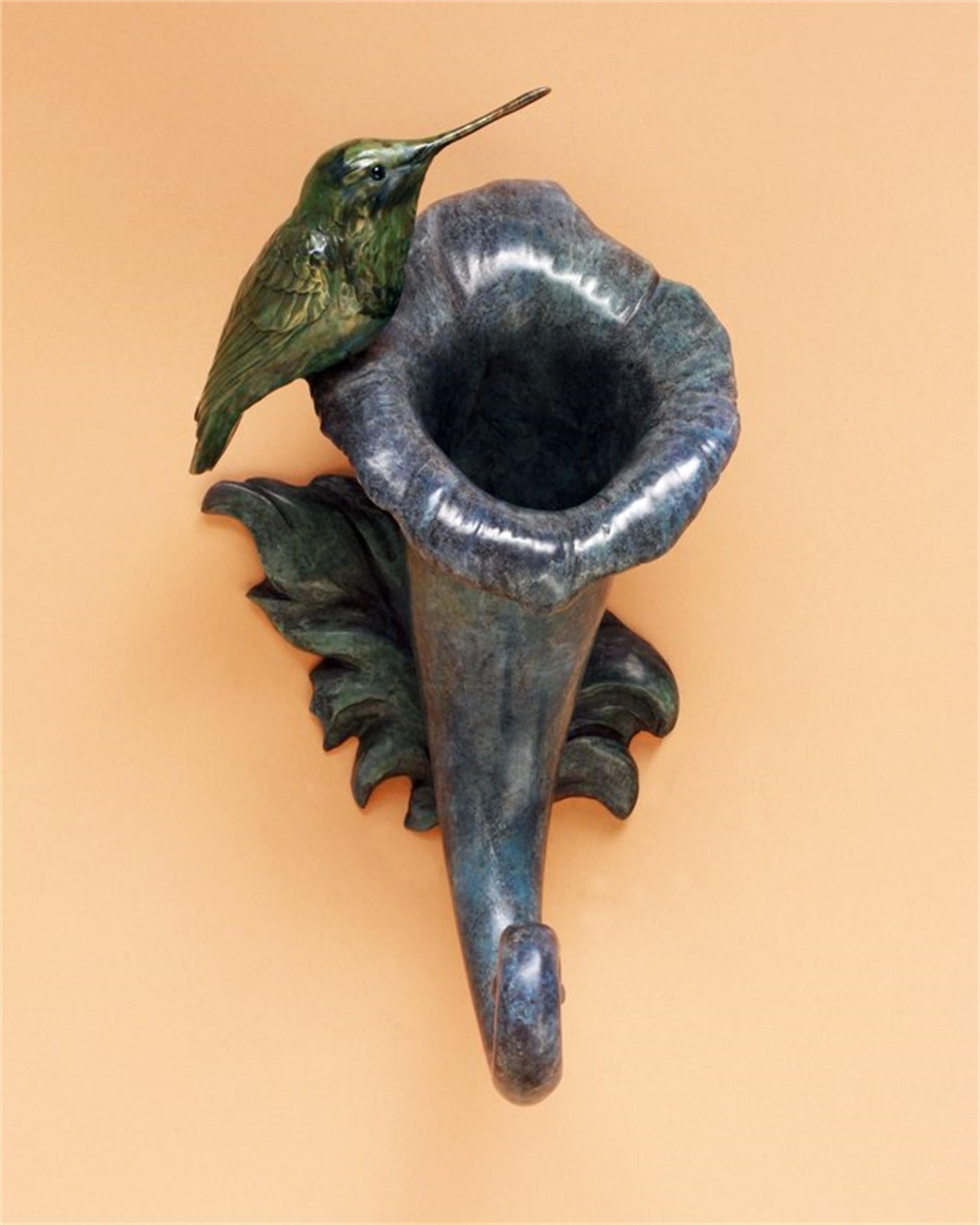 Trumpet Flower by Melissa Cooper