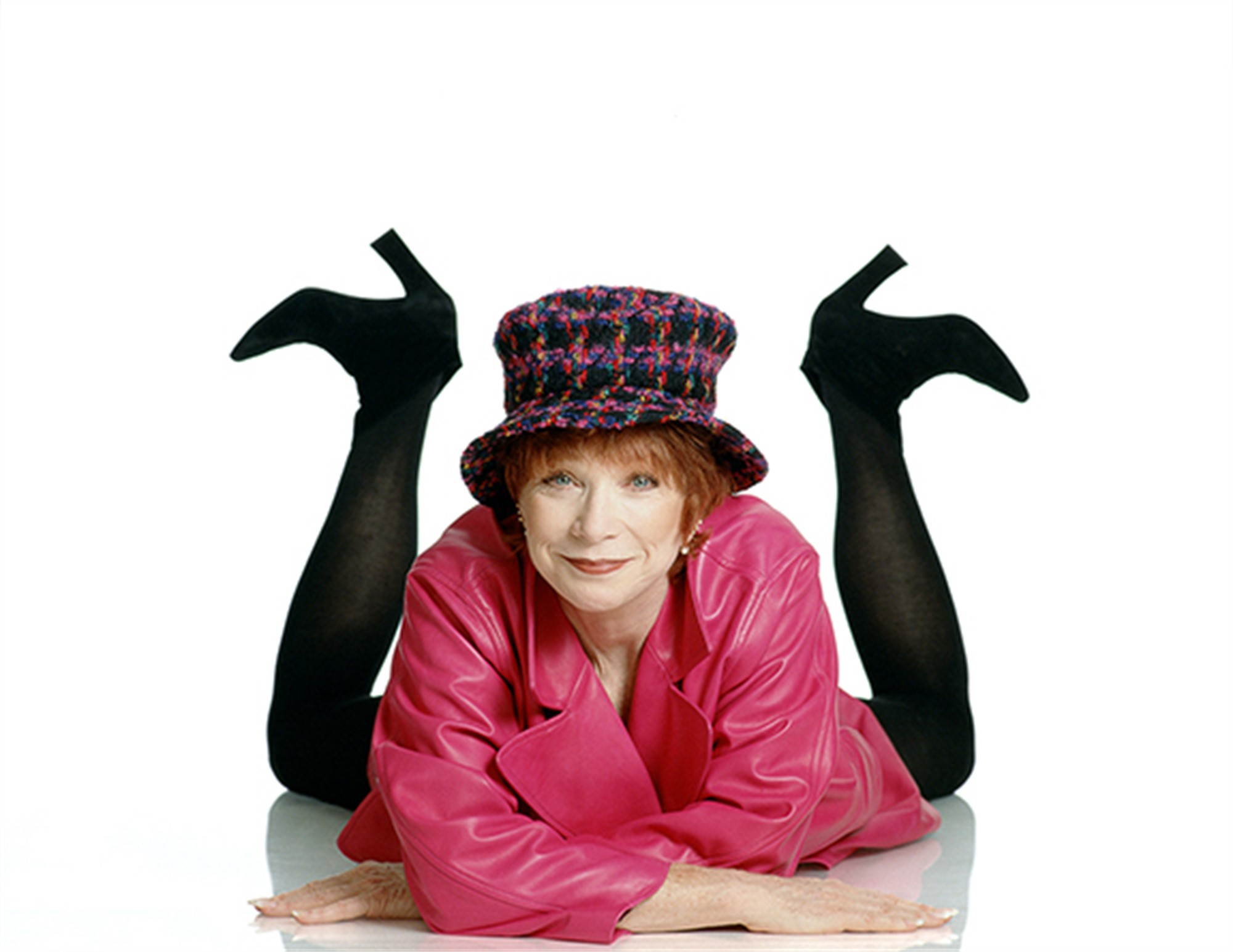 91092 Shirley MacLaine Feet Up Color by Timothy White