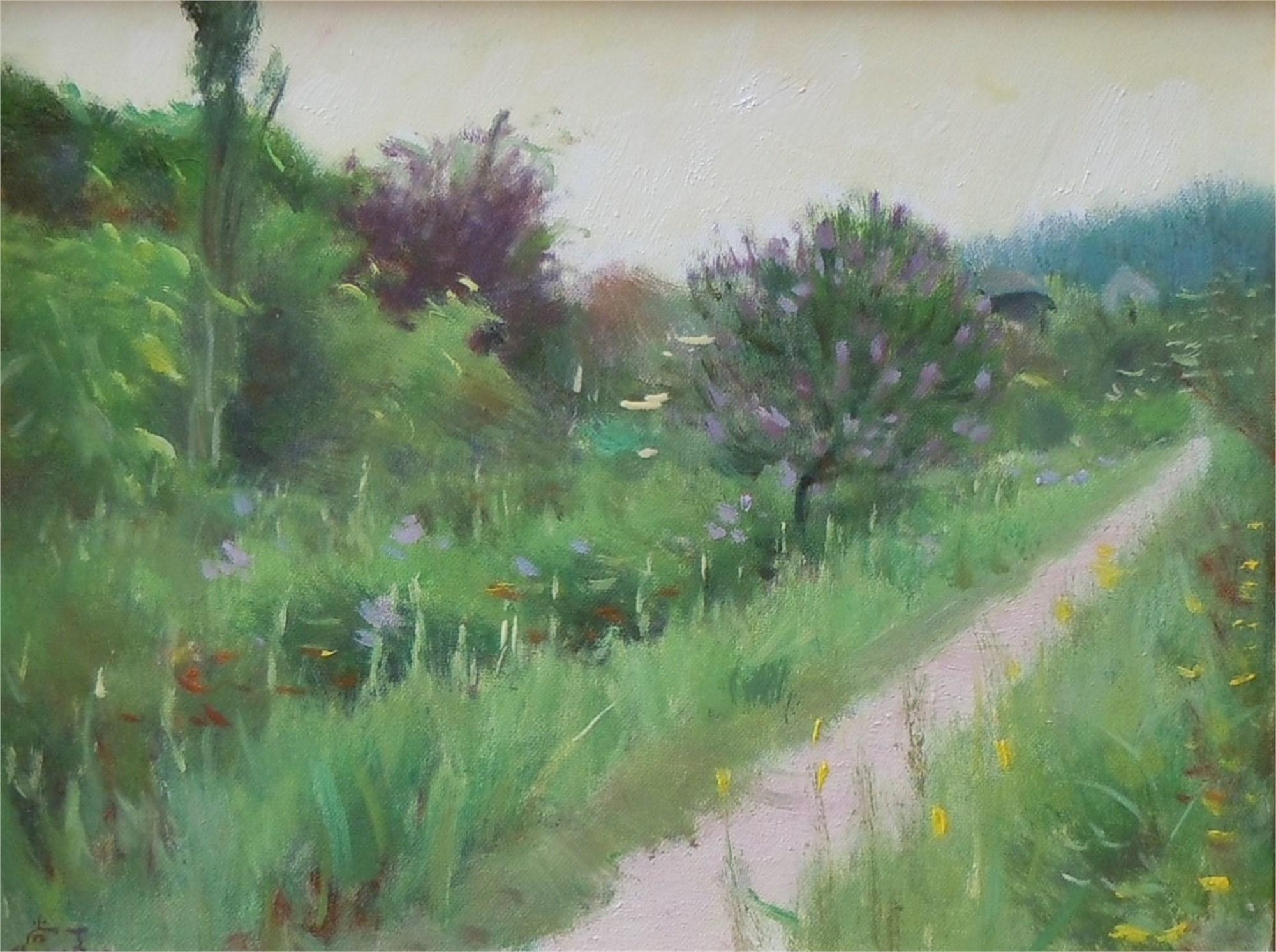 Monet's Garden 4 by Shang Ding