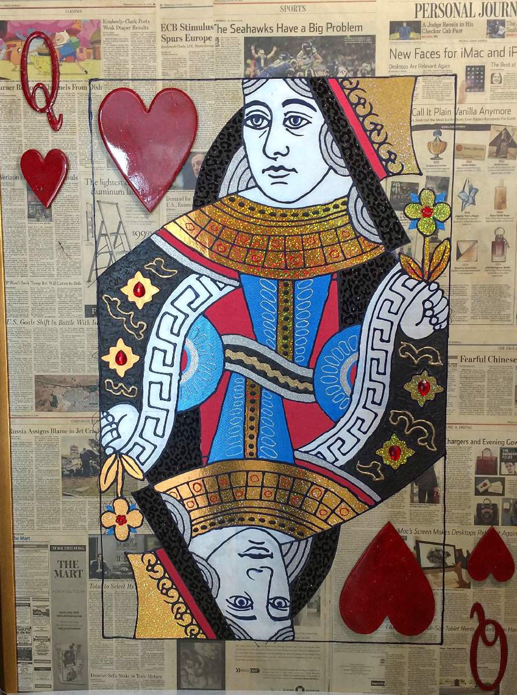 Queen Of Hearts by Elena Bulatova