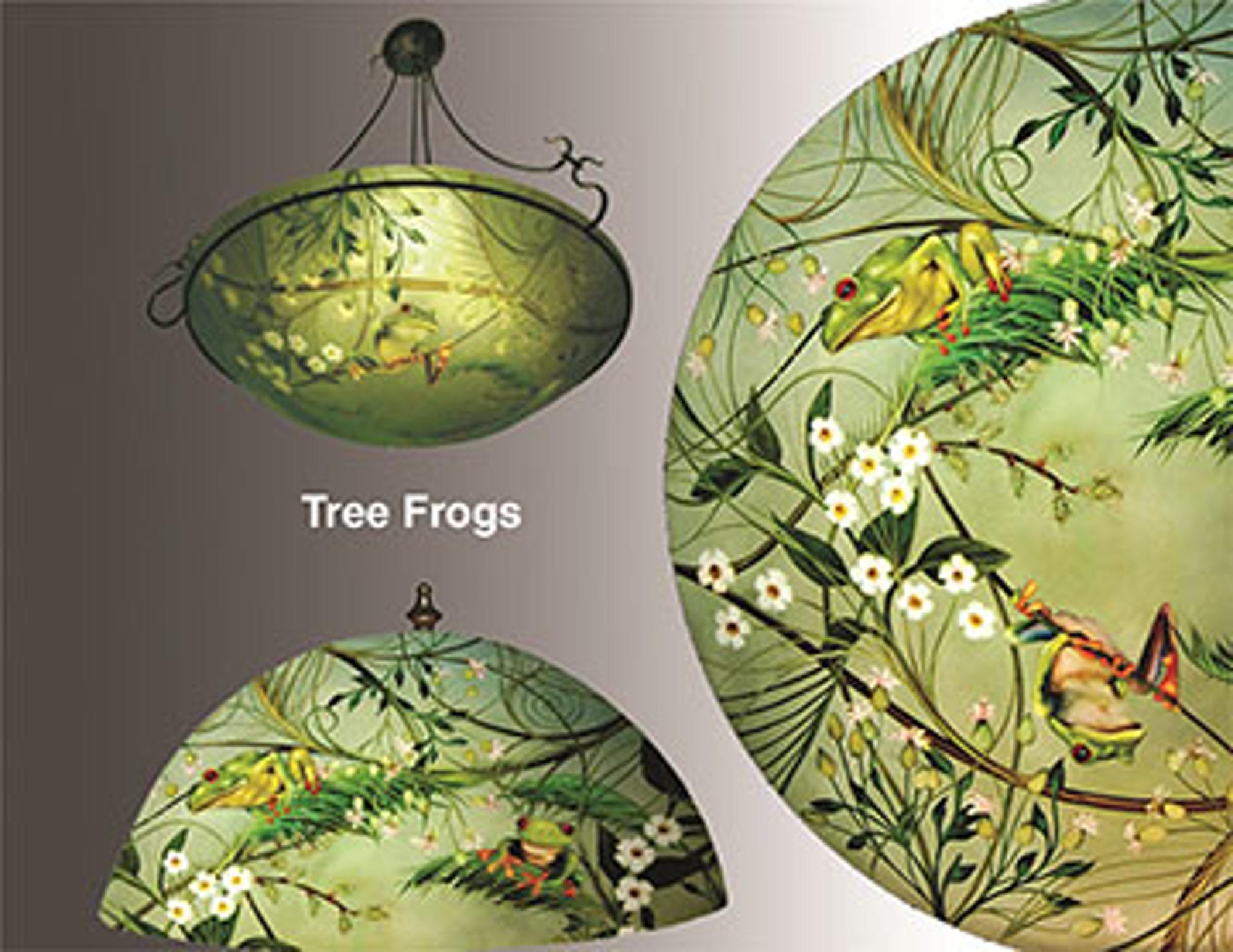 Design Tree Frogs by Jamie Barthel