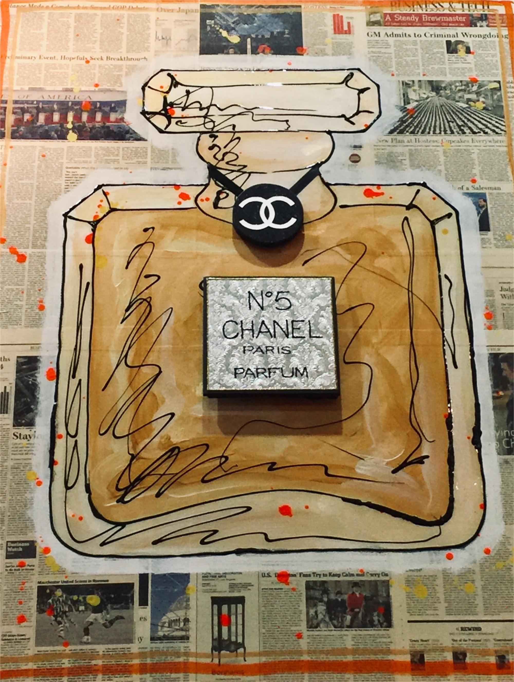 """Chanel No. 5 Wall Street Journal Series by Elena Bulatova"
