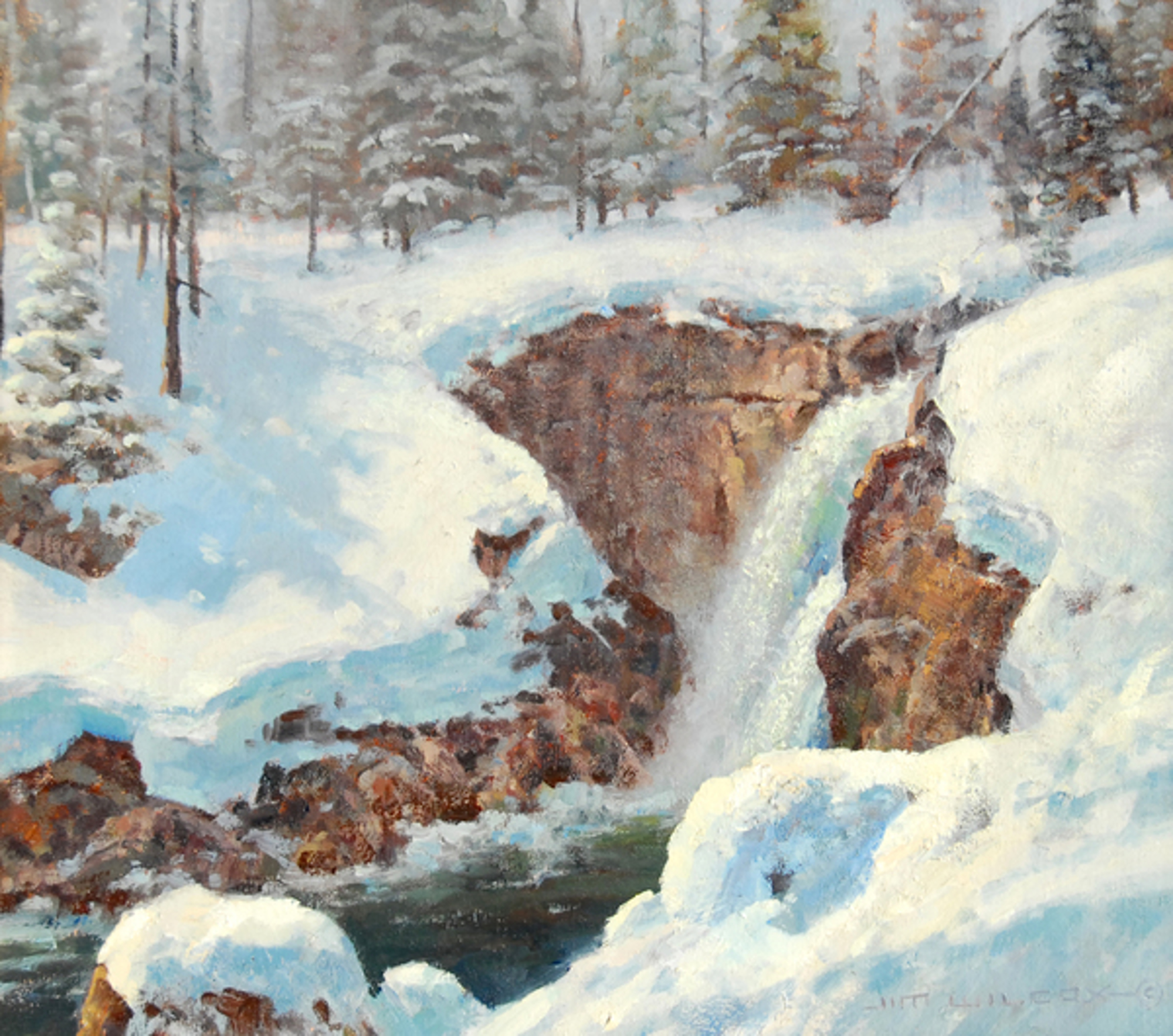 Moose Falls by Jim Wilcox