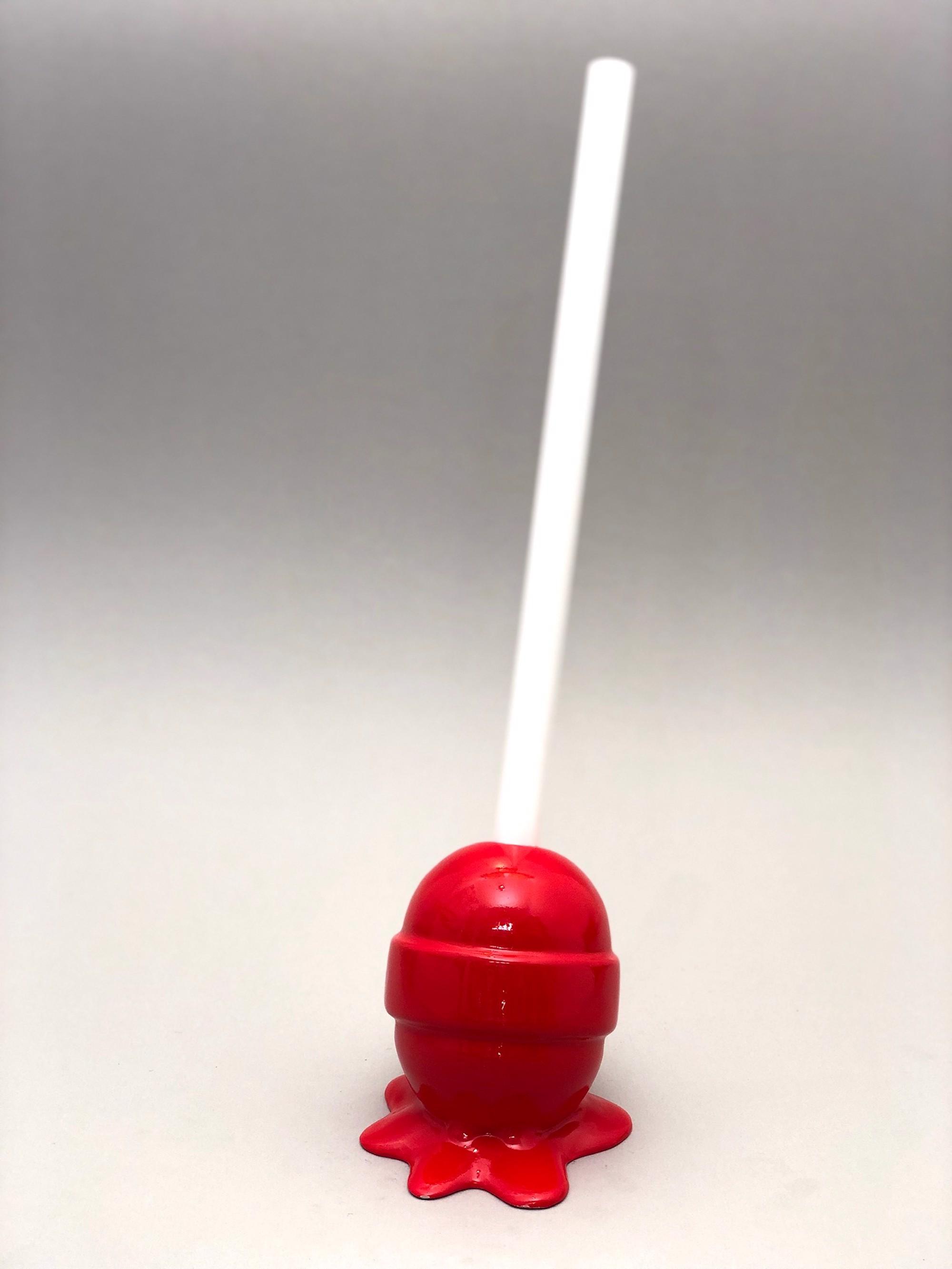 The Sweet Life, small, hot red Lollipop by Elena Bulatova