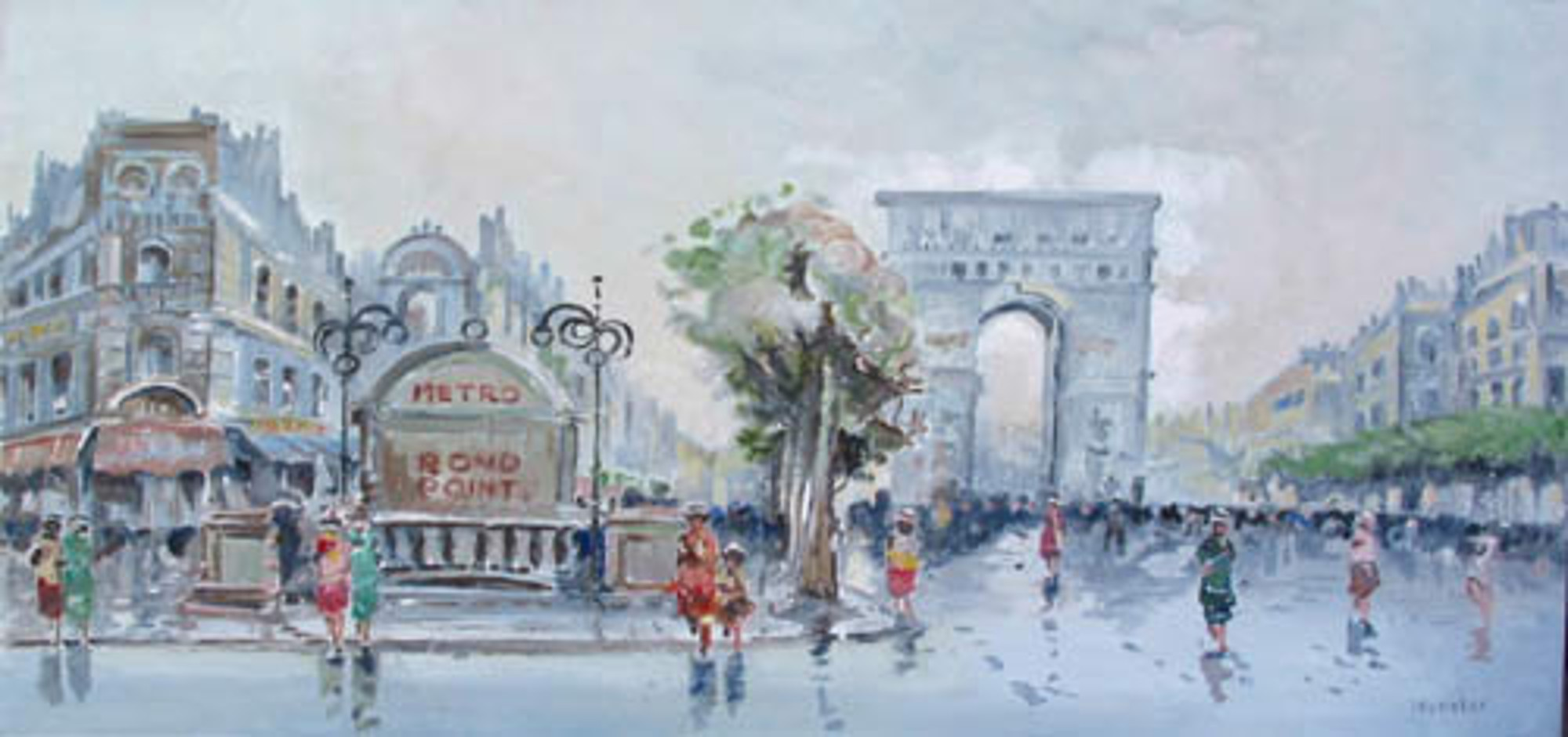 CHAMPS ELYSEE, PARIS by WEBSTER