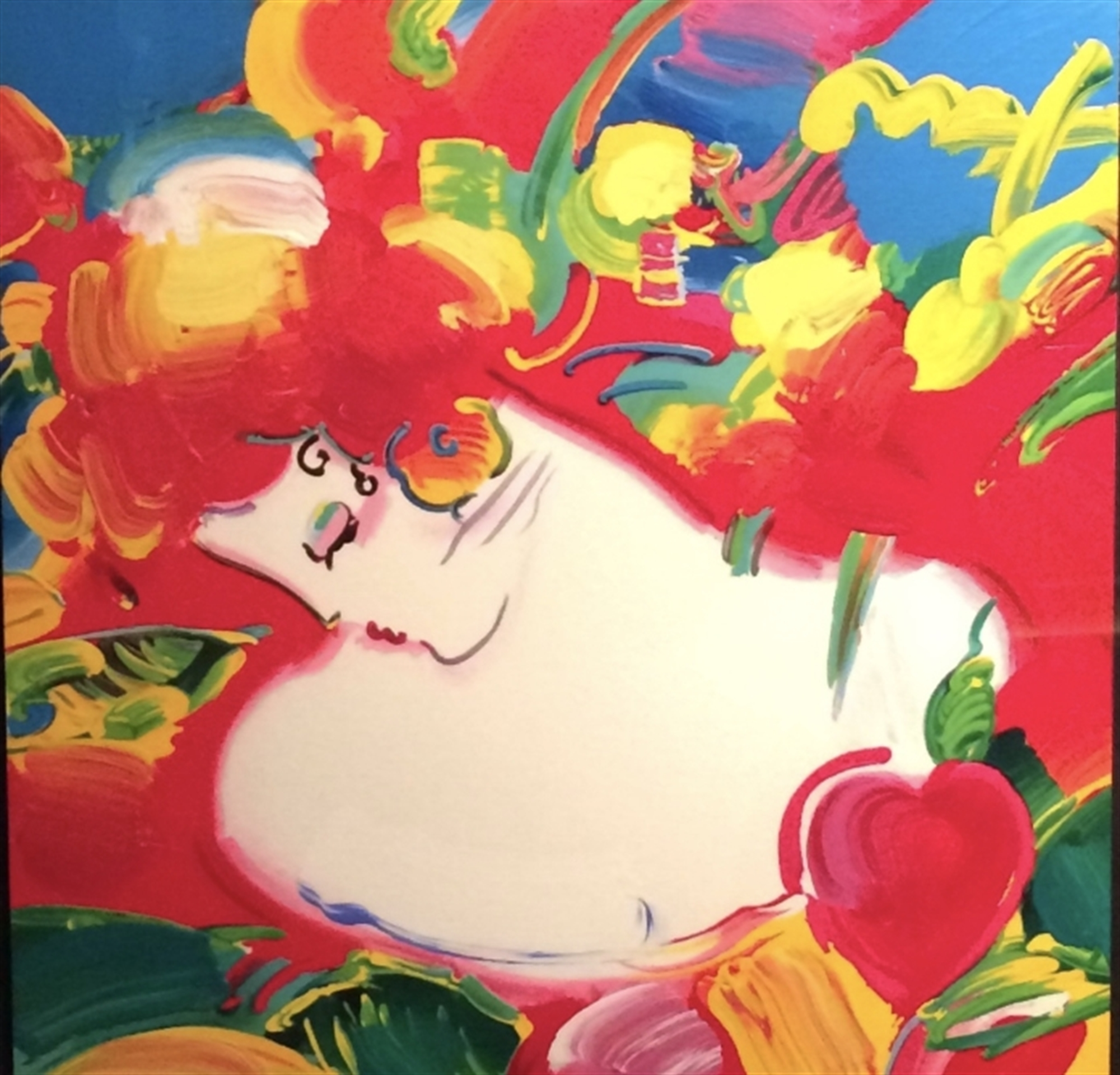 Blossom Lady by Peter Max