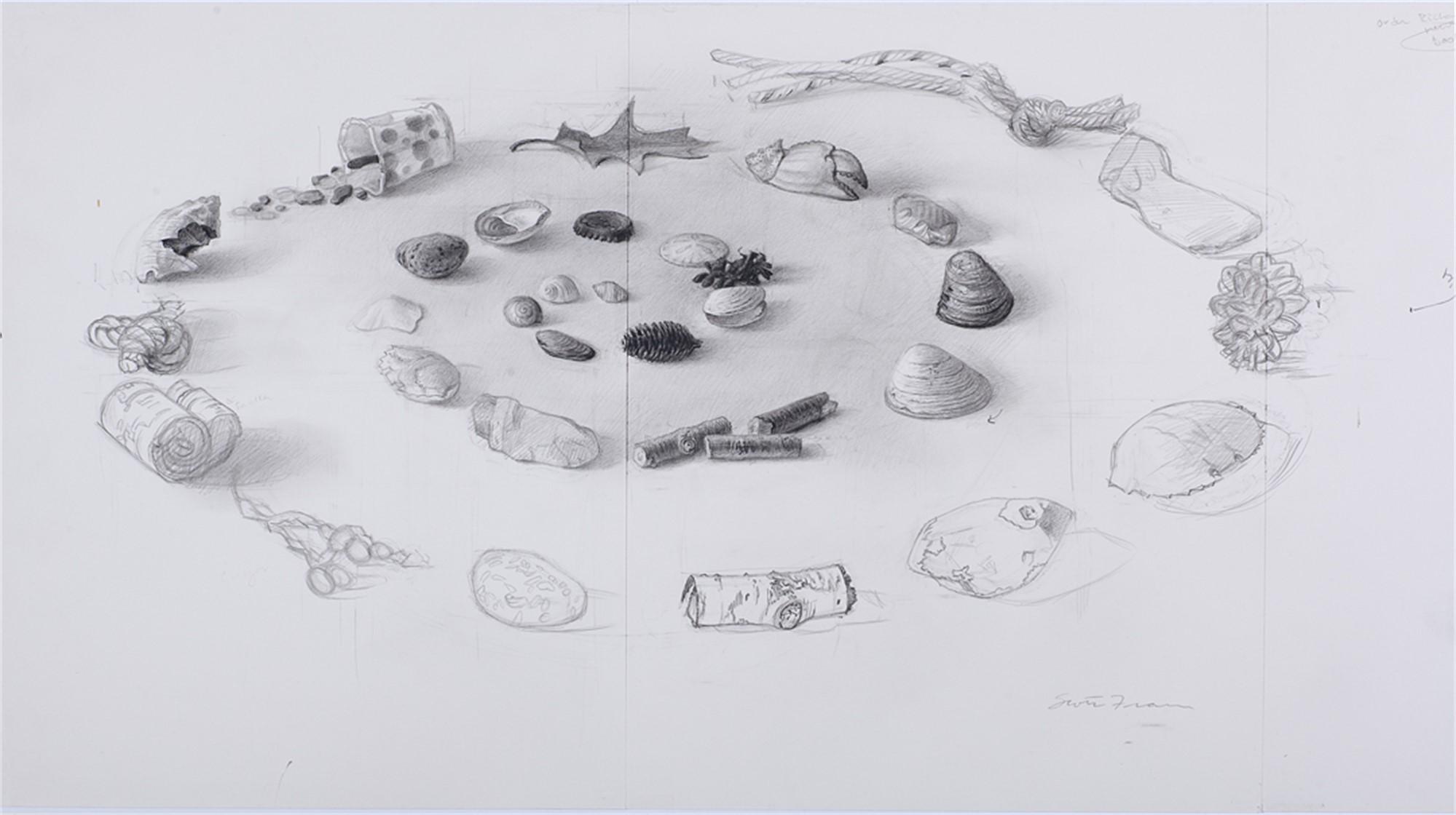 Mt. Desert Drawing Pre-study by Scott Fraser
