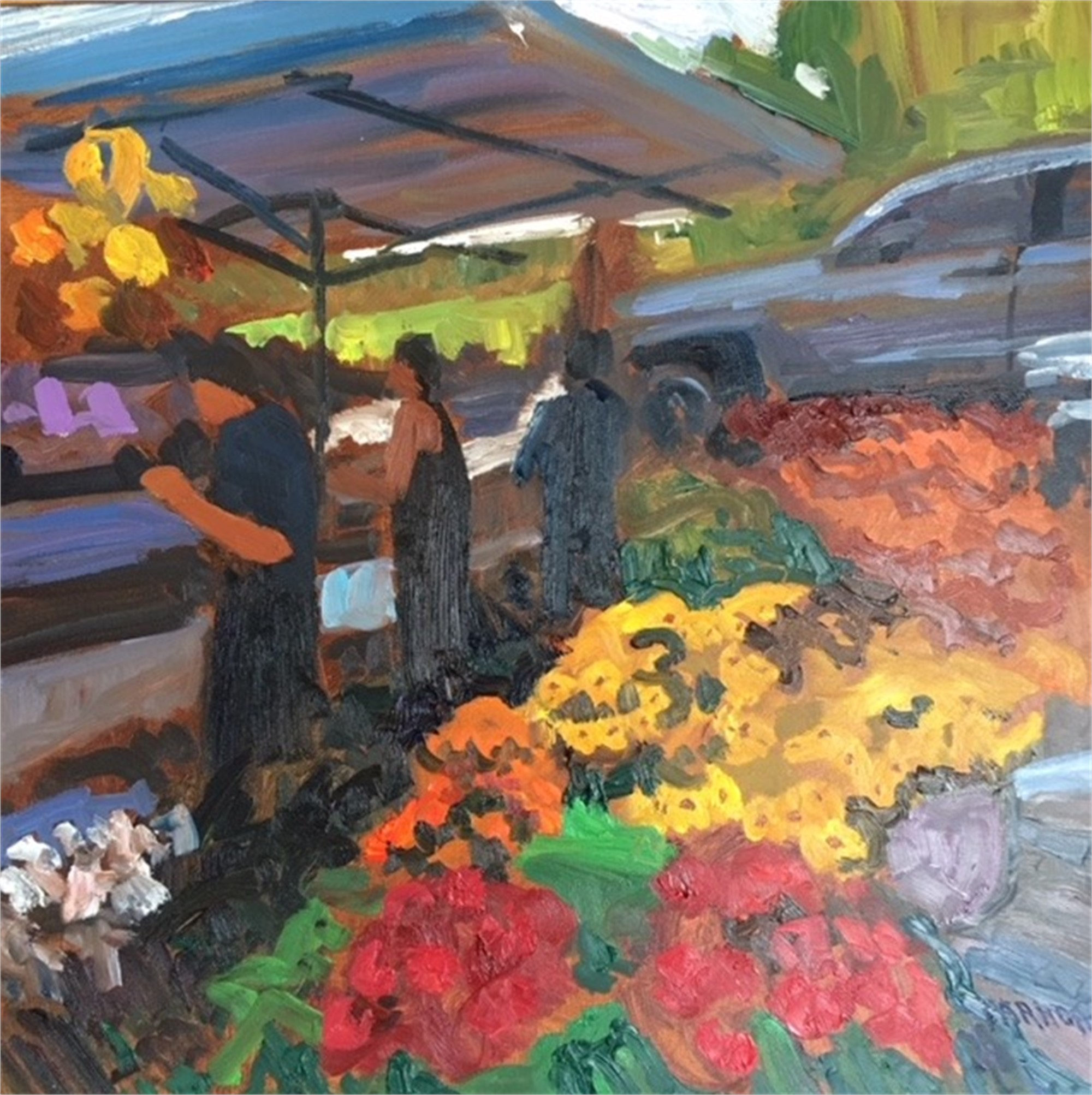 Where She Bought Flowers by Joe Parrott