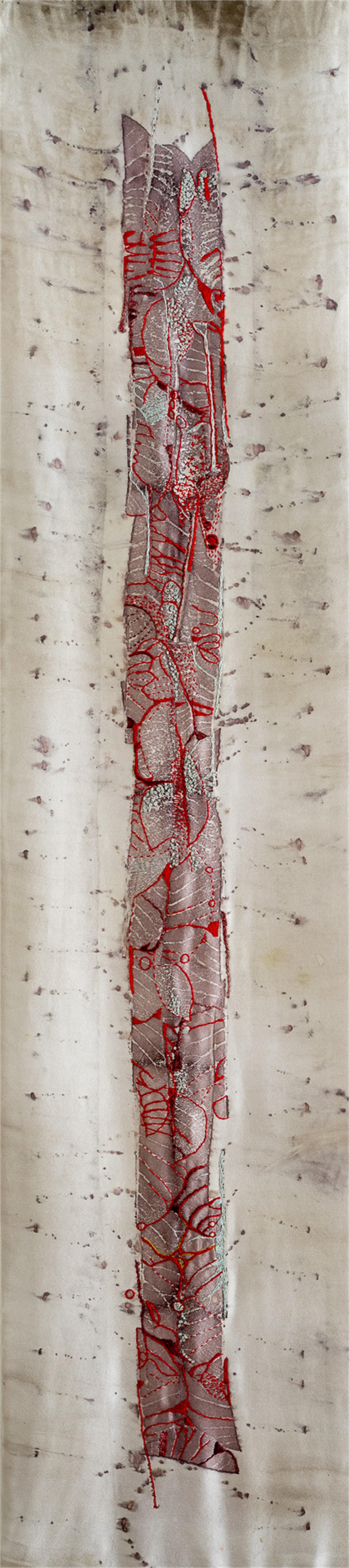 Leaf Asemic by Caryn Friedlander