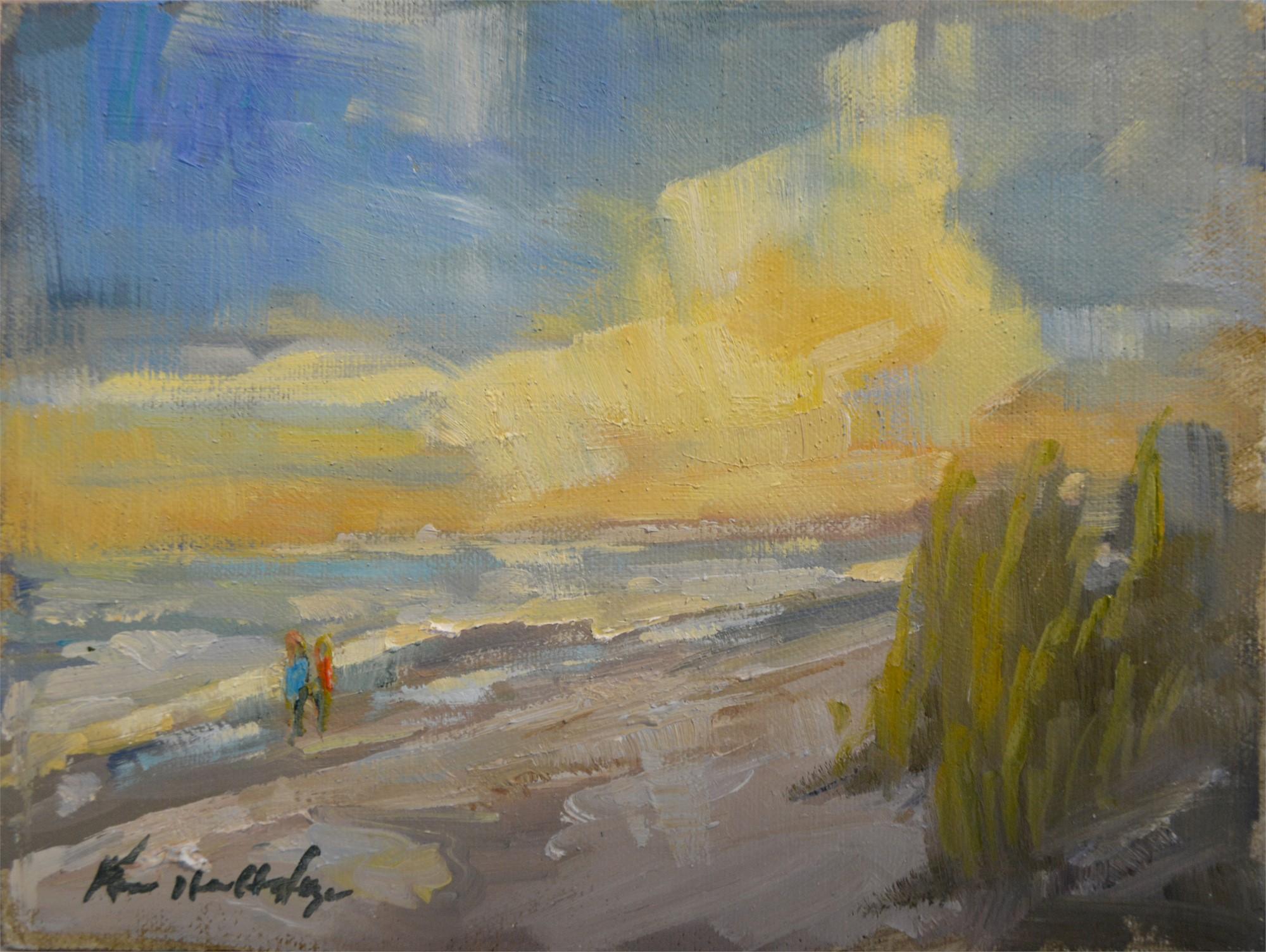 Figure 8 Winter Sunset (NC) by Karen Hewitt Hagan