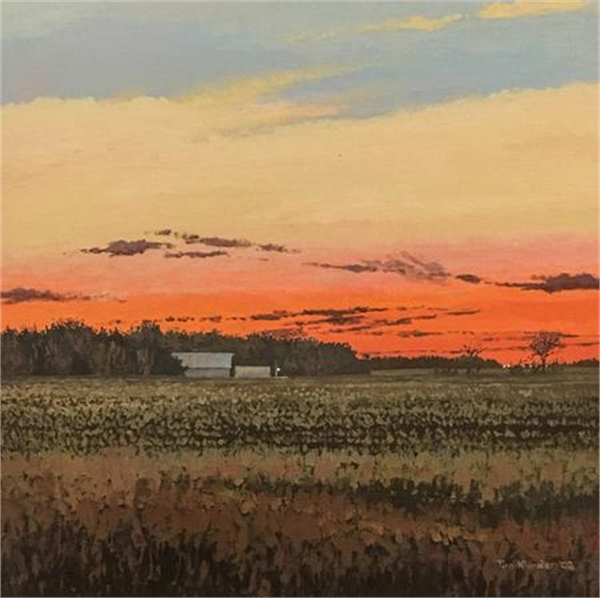 Nebraska Dusk No. 2 by Tim Klunder