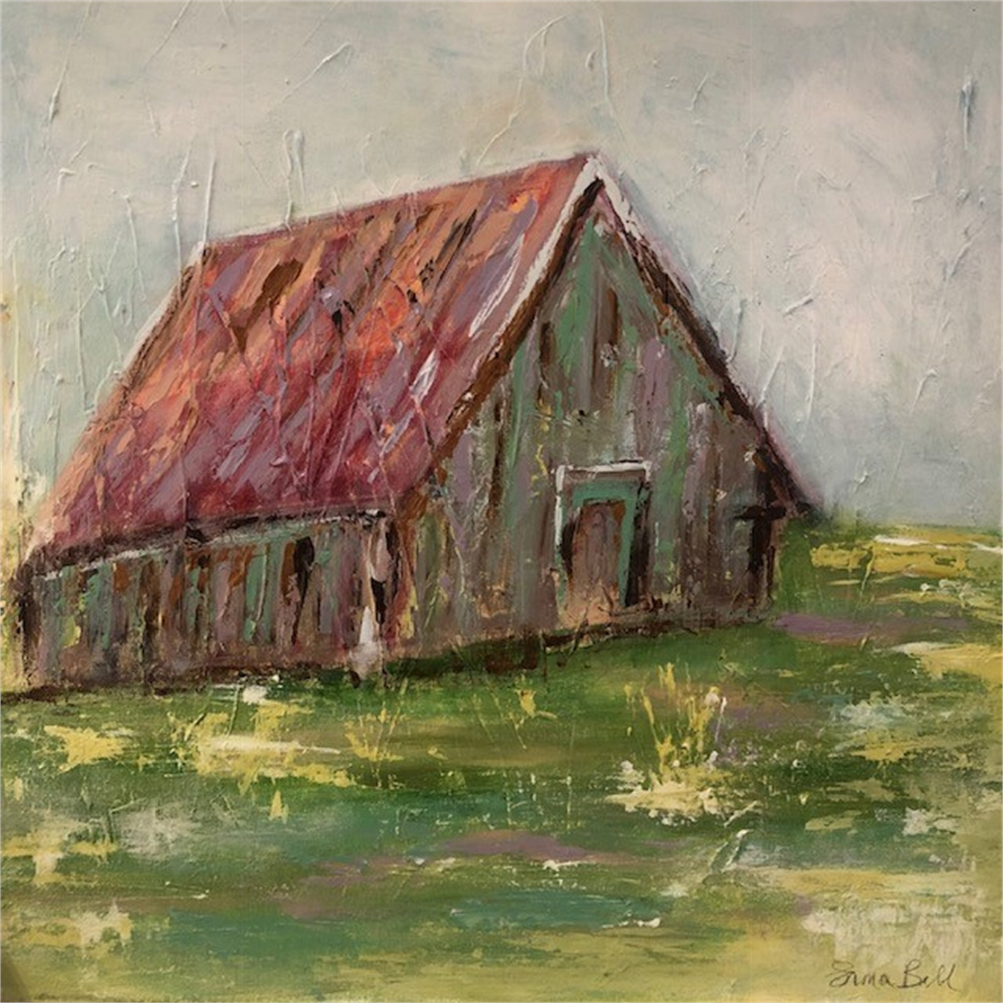 Old Barn by Emma Bell