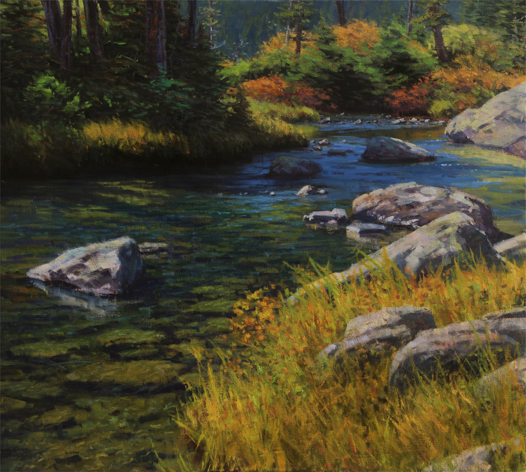 Upper Waters by Wes Newton